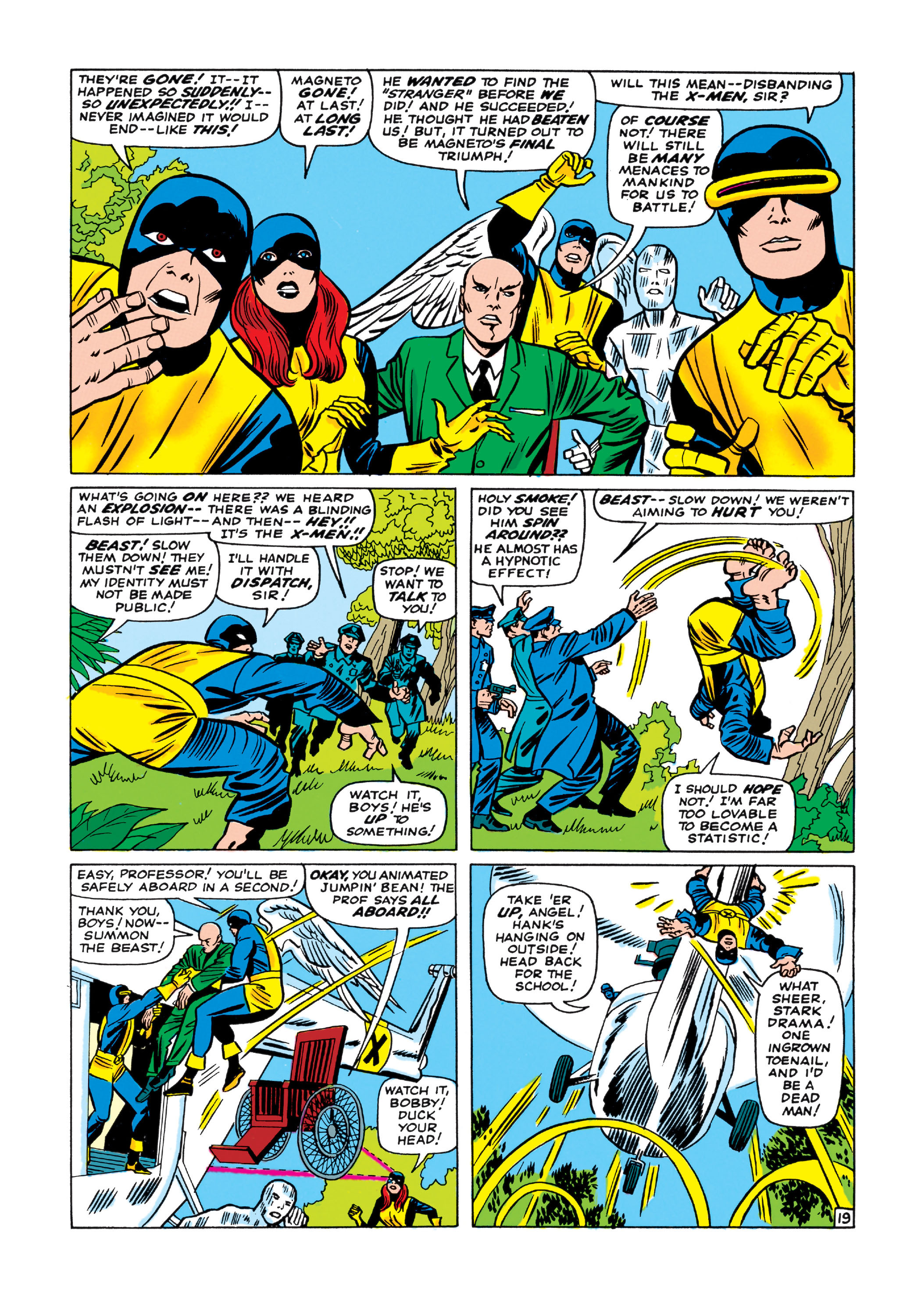 Read online Uncanny X-Men (1963) comic -  Issue #11 - 20