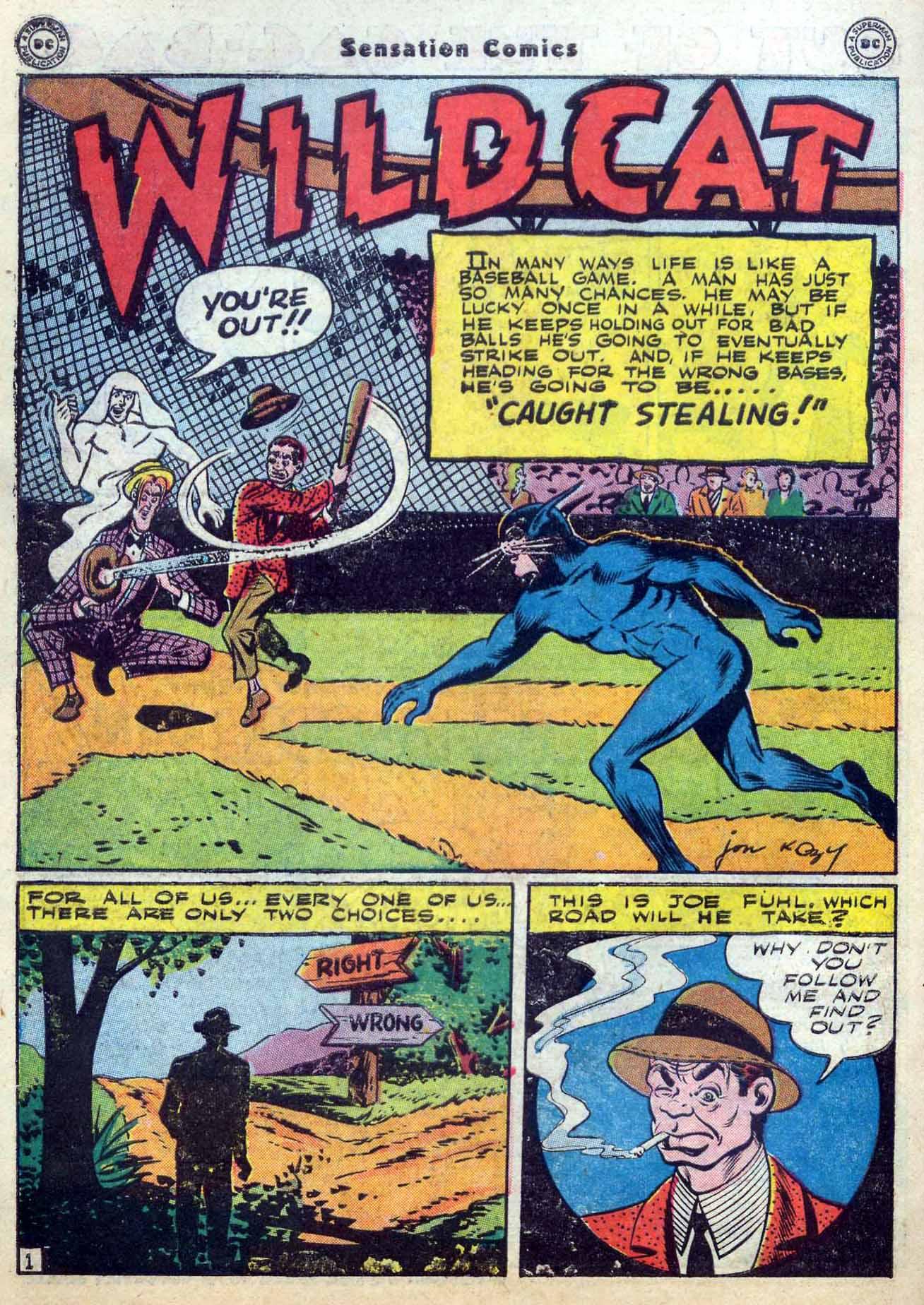 Read online Sensation (Mystery) Comics comic -  Issue #59 - 42