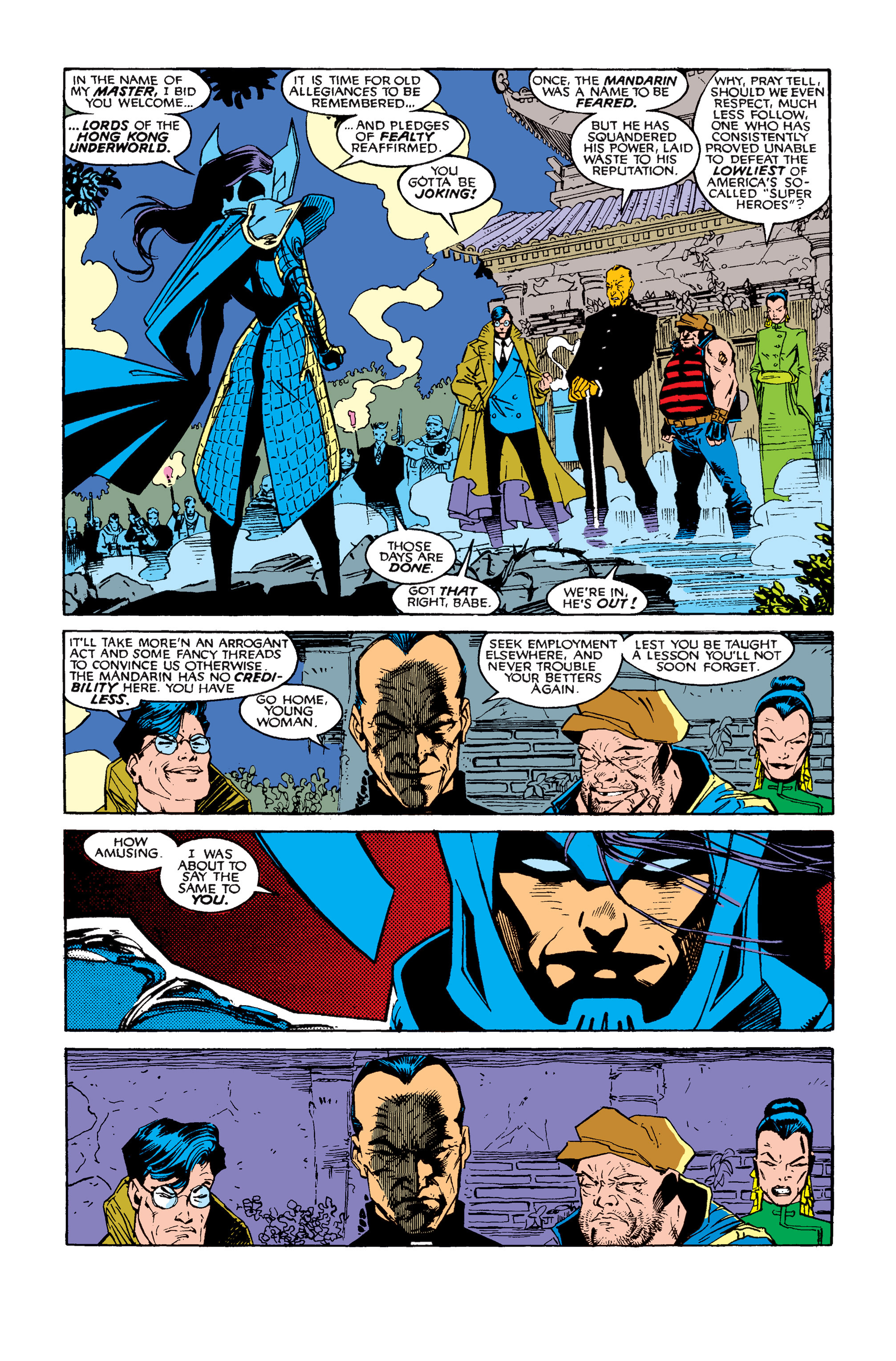 Read online Uncanny X-Men (1963) comic -  Issue #257 - 3