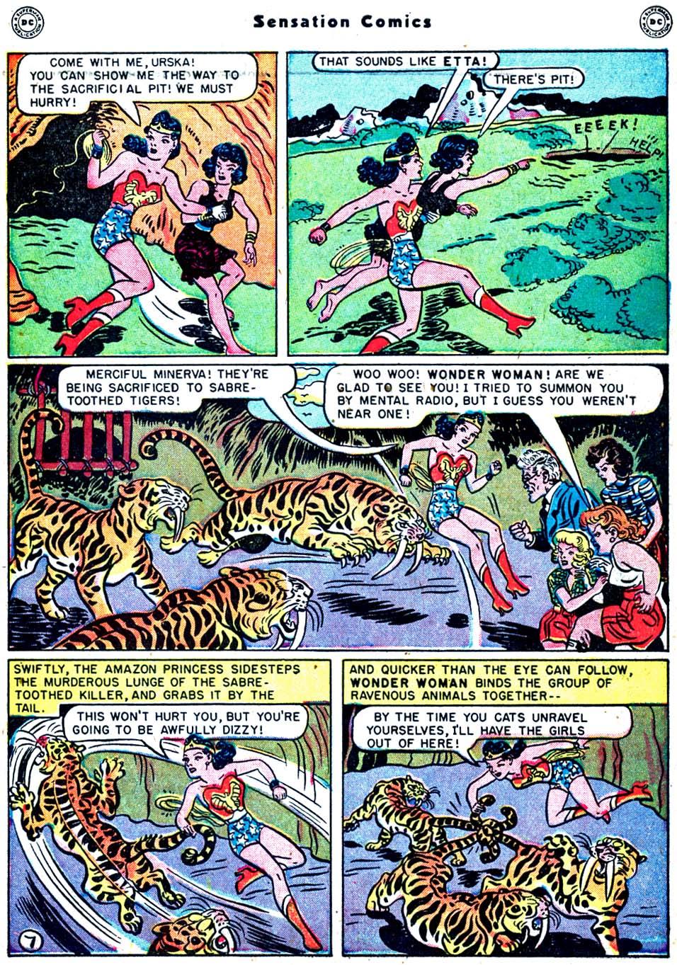 Read online Sensation (Mystery) Comics comic -  Issue #91 - 9