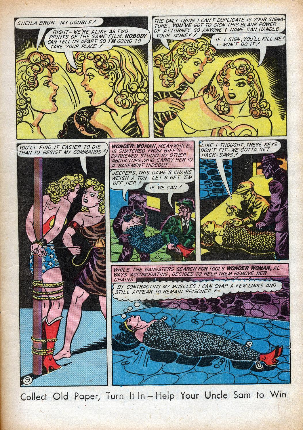 Read online Sensation (Mystery) Comics comic -  Issue #33 - 11
