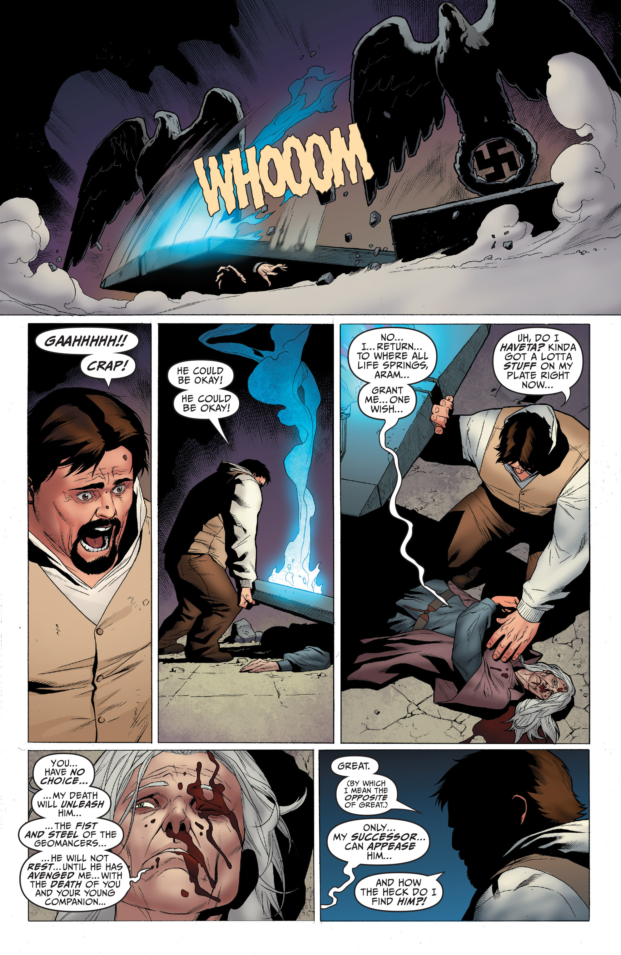 Read online Archer and Armstrong comic -  Issue #4 - 22