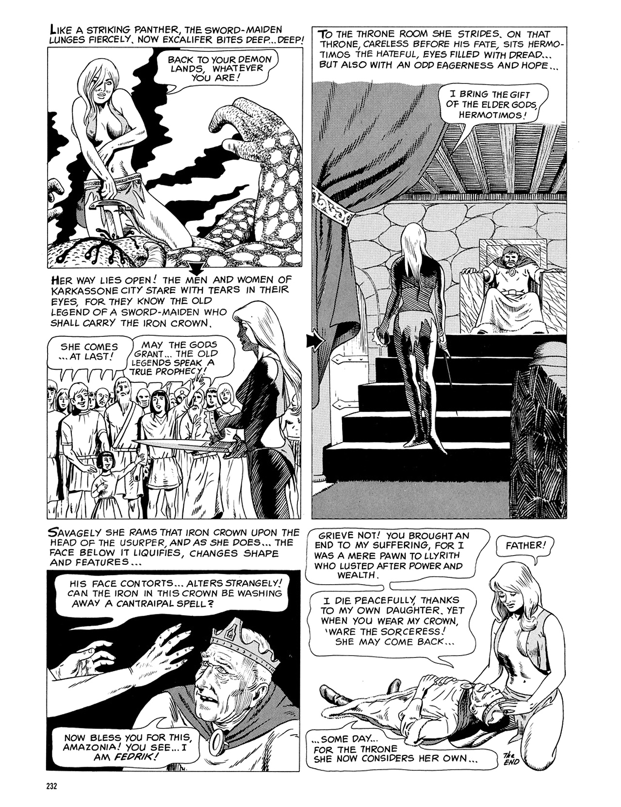 Read online Eerie Archives comic -  Issue # TPB 5 - 233