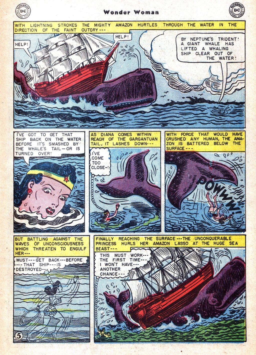 Read online Wonder Woman (1942) comic -  Issue #72 - 31