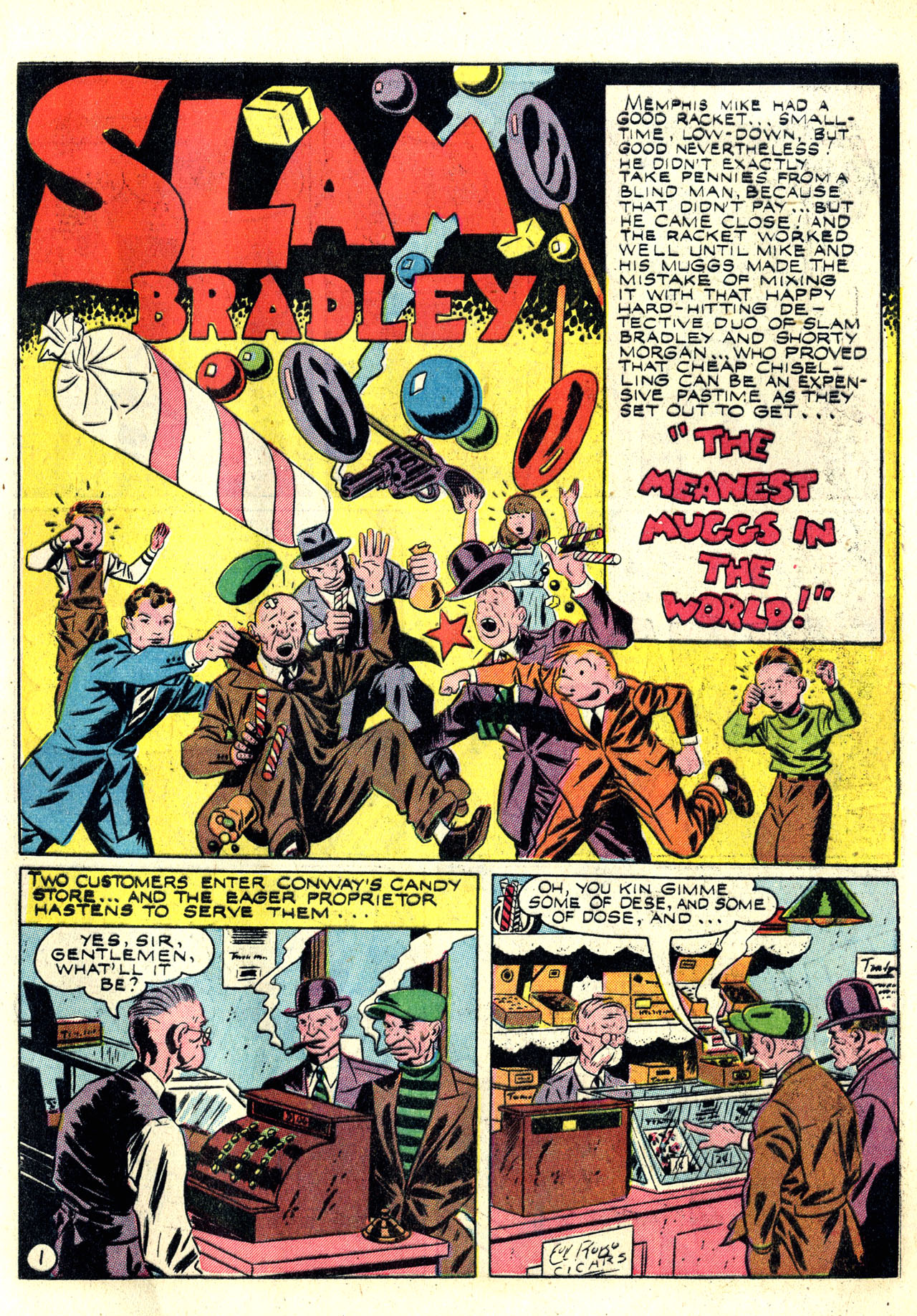 Read online Detective Comics (1937) comic -  Issue #78 - 17