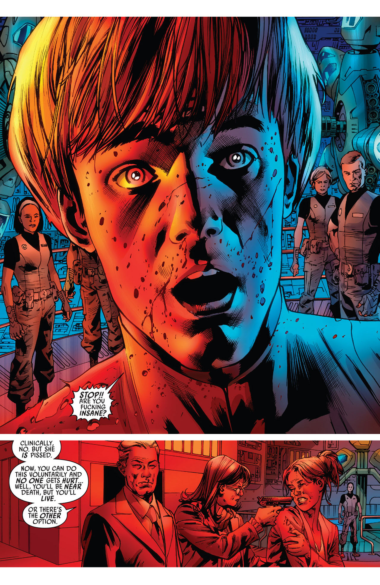 Read online America's Got Powers comic -  Issue #5 - 15
