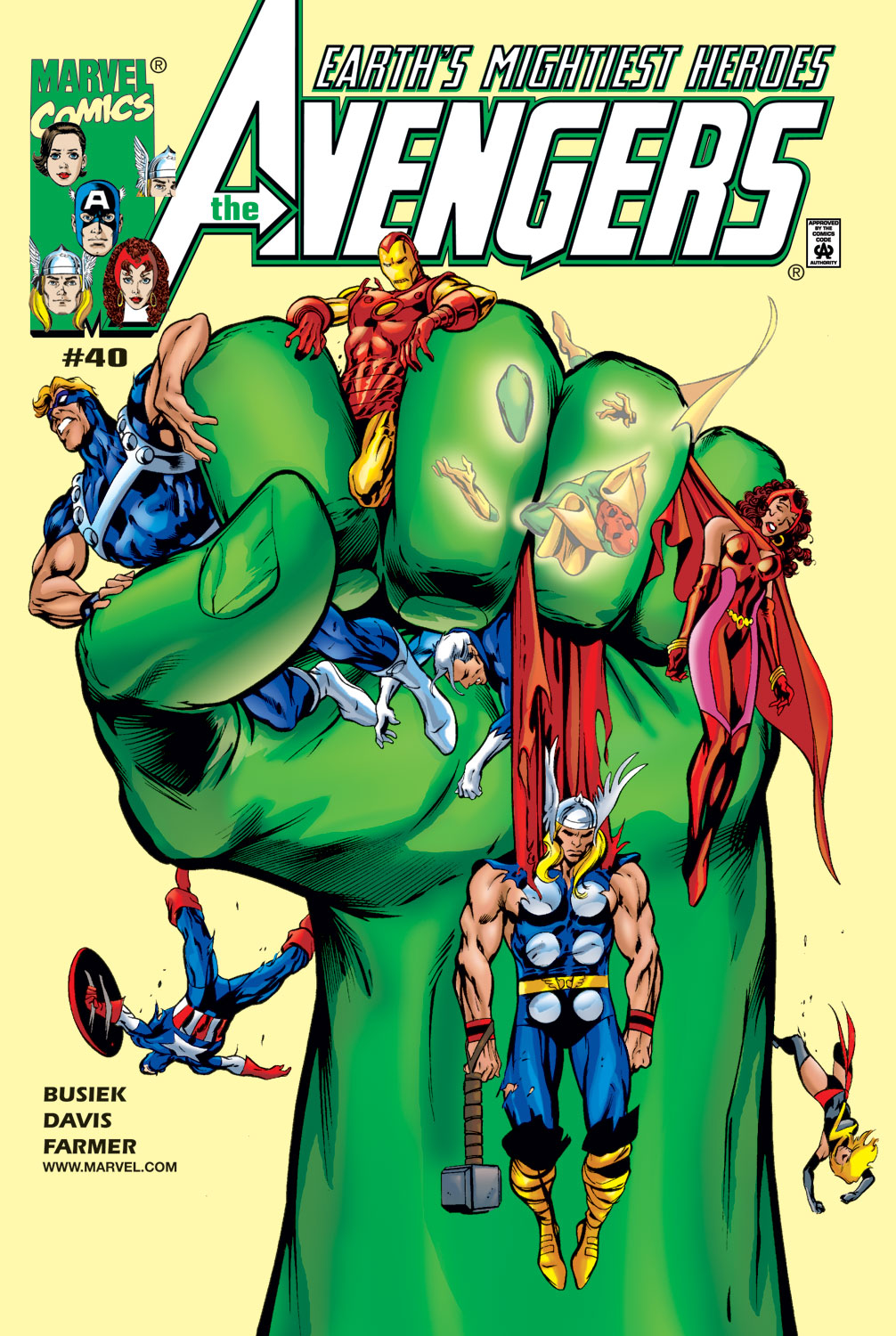 Read online Avengers (1998) comic -  Issue #40 - 1