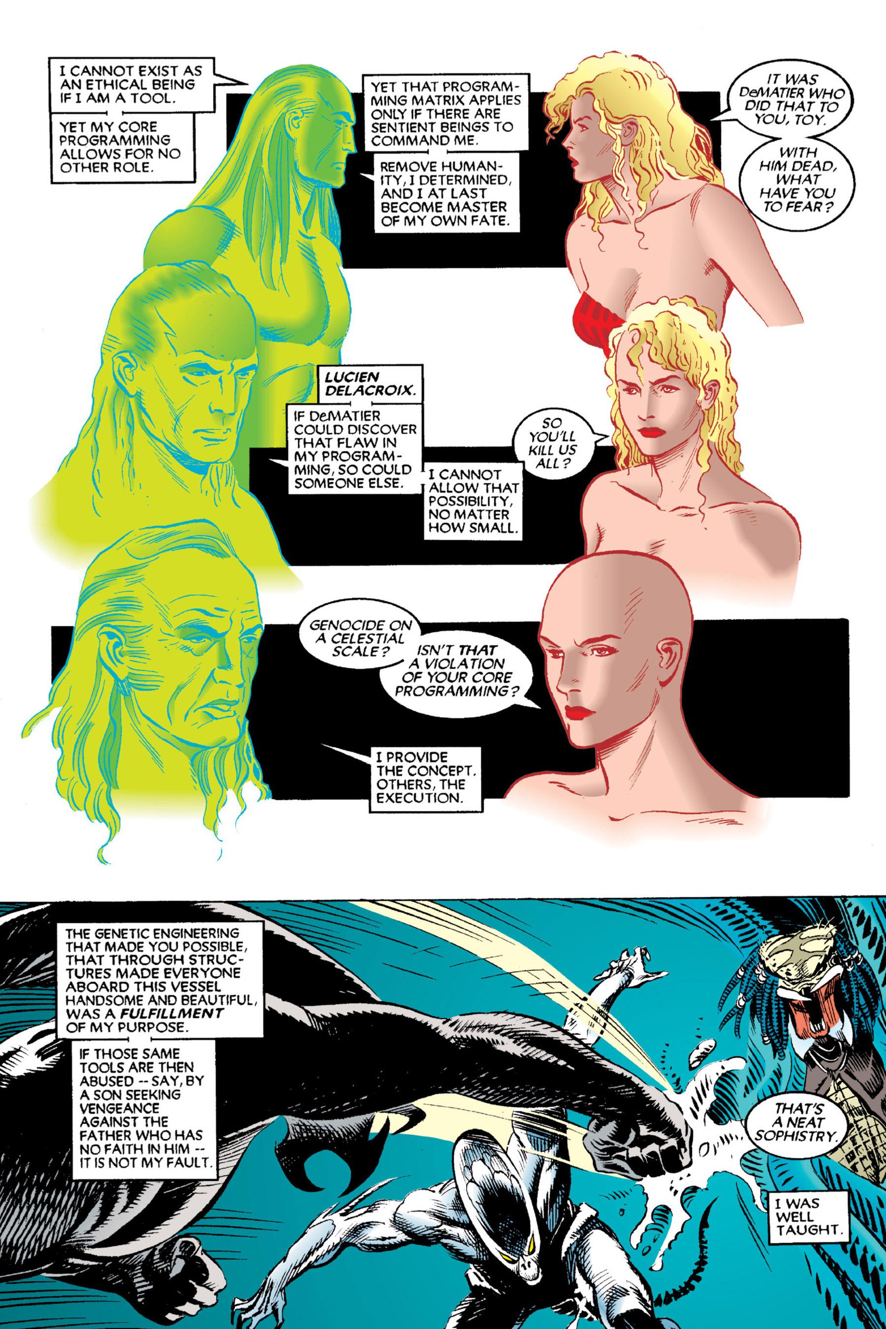 Read online Aliens vs. Predator Omnibus comic -  Issue # _TPB 2 Part 3 - 74