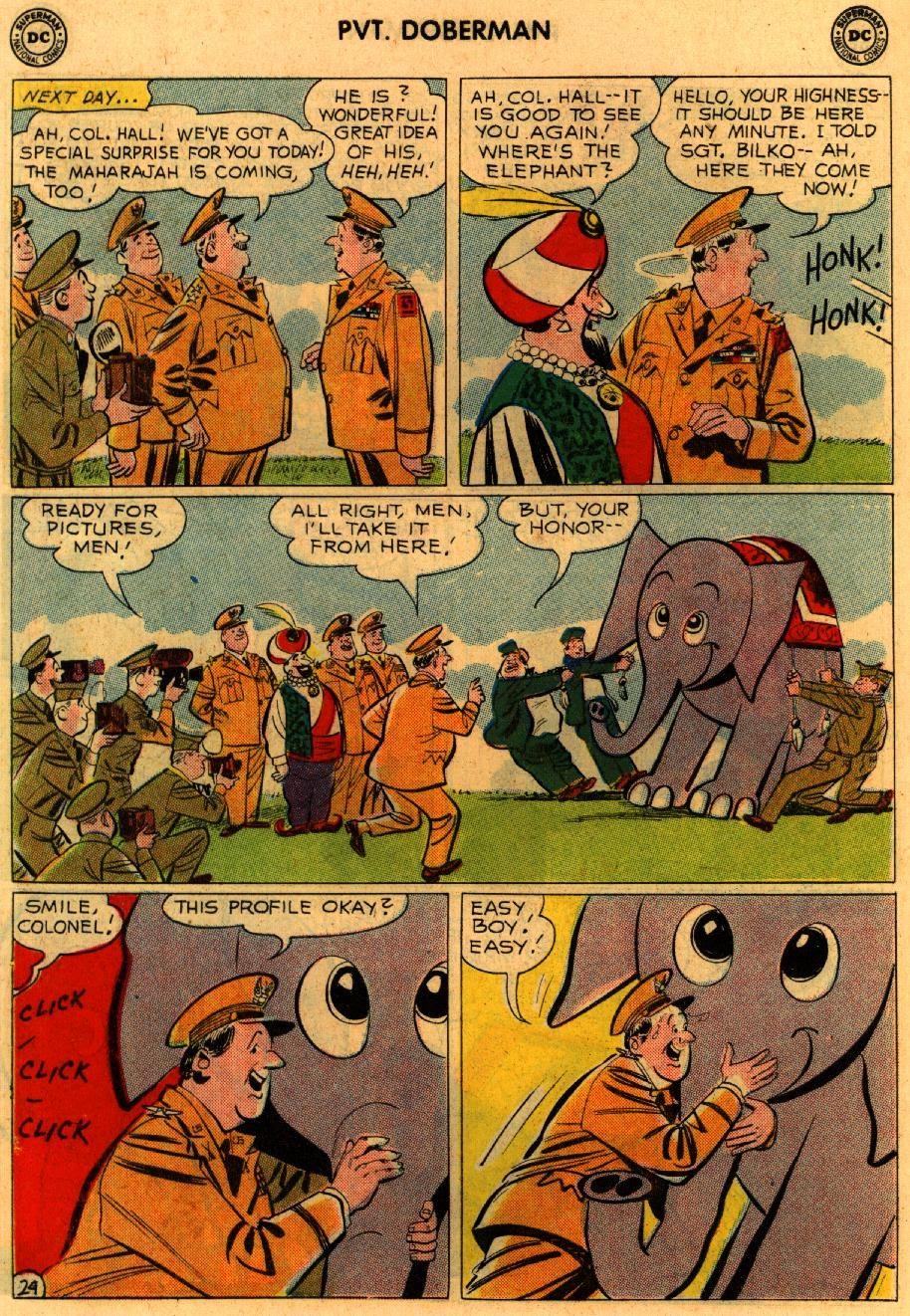 Sgt. Bilko's Pvt. Doberman issue 9 - Page 30