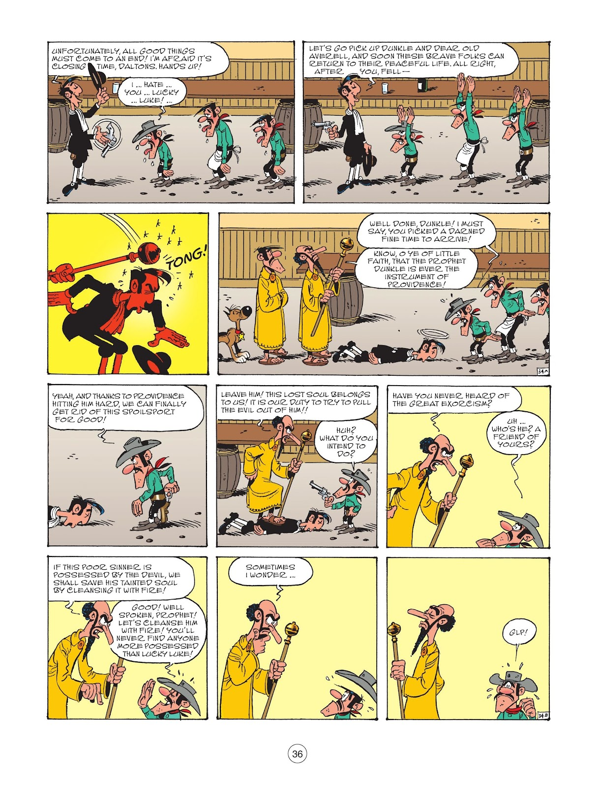 A Lucky Luke Adventure issue 73 - Page 38