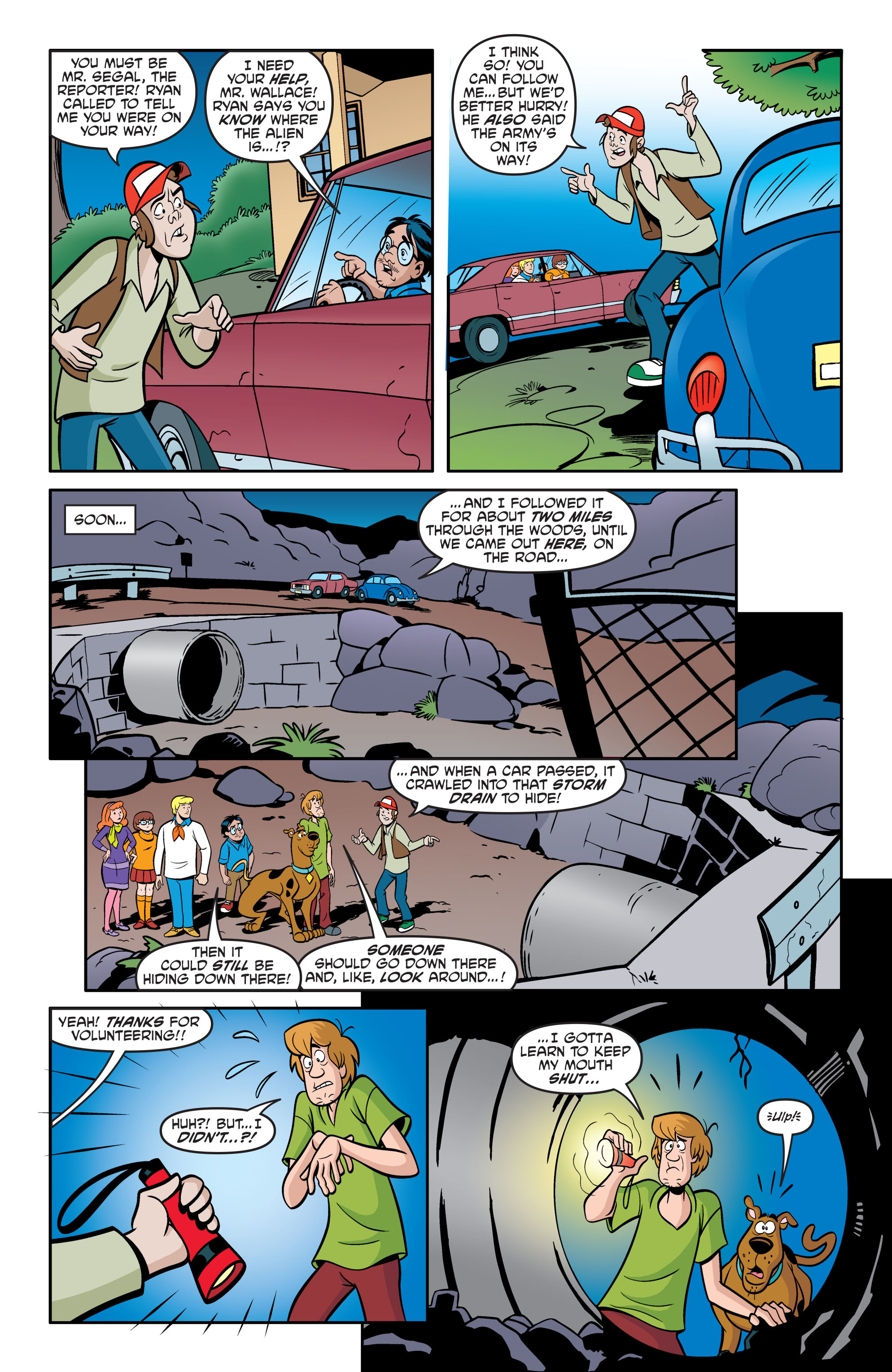 Read online Scooby-Doo: Where Are You? comic -  Issue #56 - 21