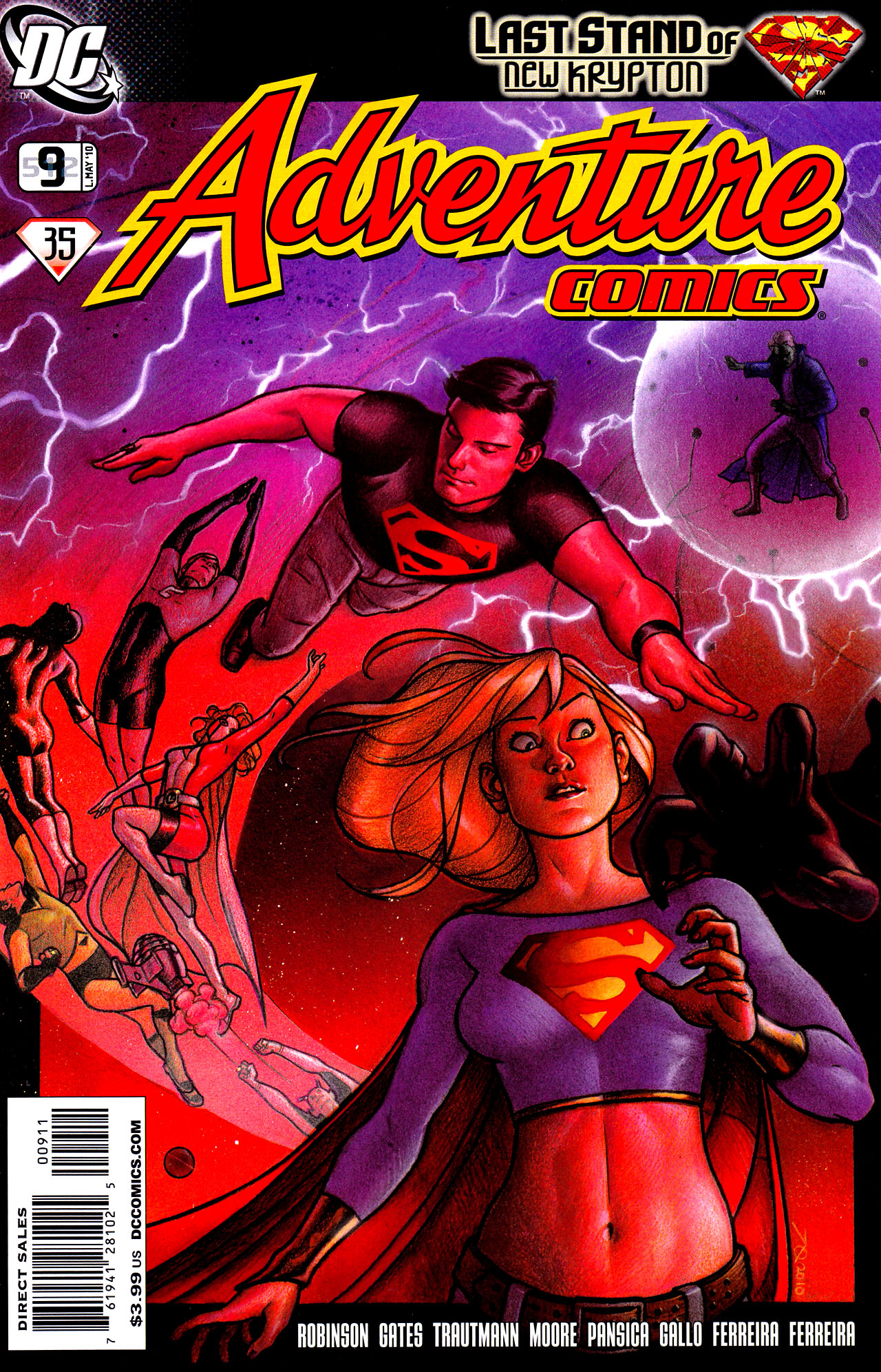 Read online Adventure Comics (2009) comic -  Issue #9 - 1
