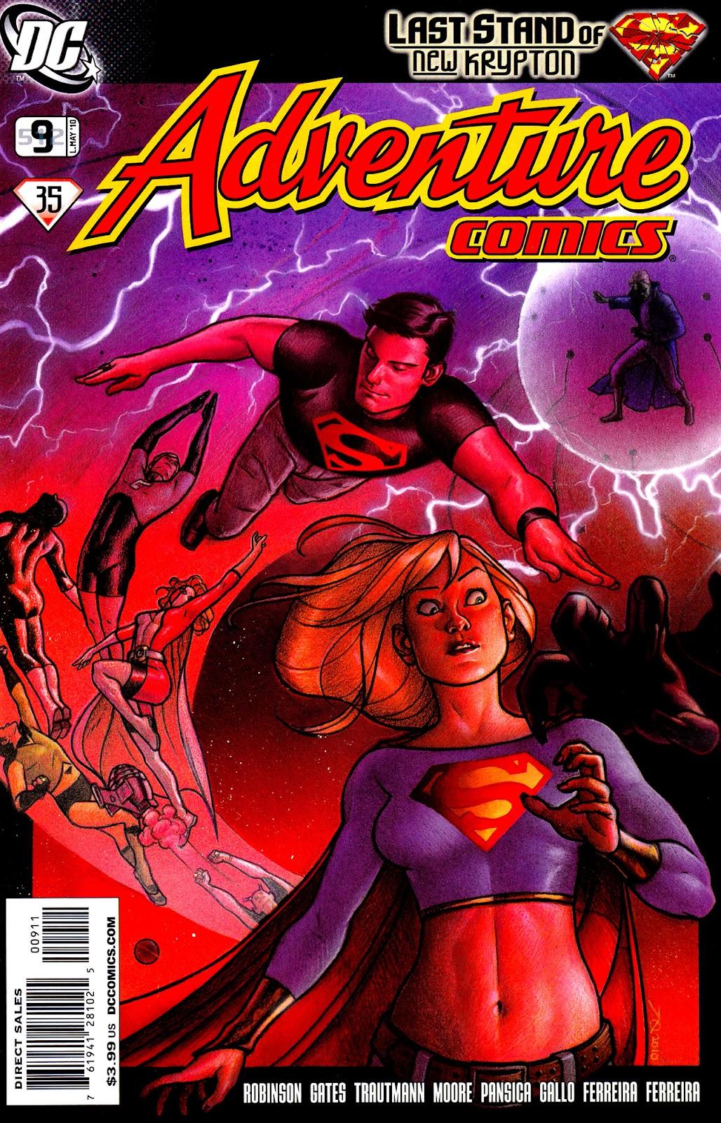 Adventure Comics (2009) 9 Page 1