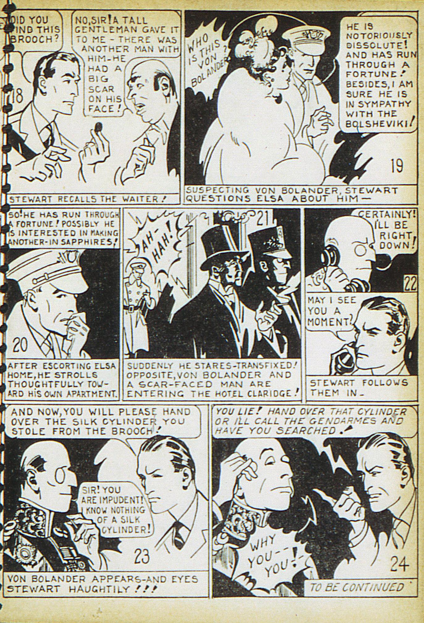 Read online Adventure Comics (1938) comic -  Issue #15 - 33
