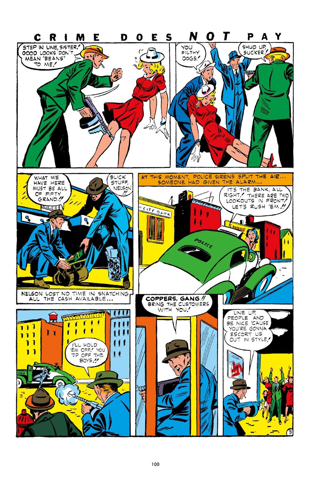 Read online Crime Does Not Pay Archives comic -  Issue # TPB 1 (Part 2) - 3