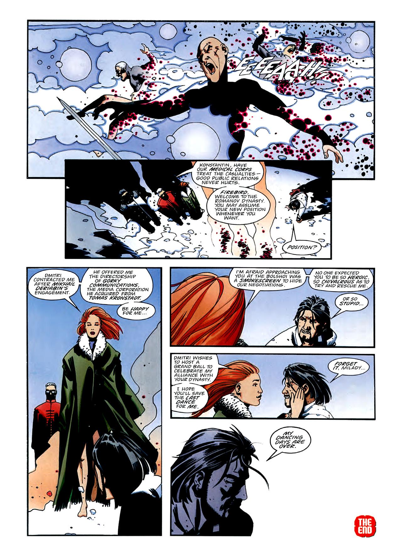 Read online Nikolai Dante comic -  Issue # TPB 3 - 36