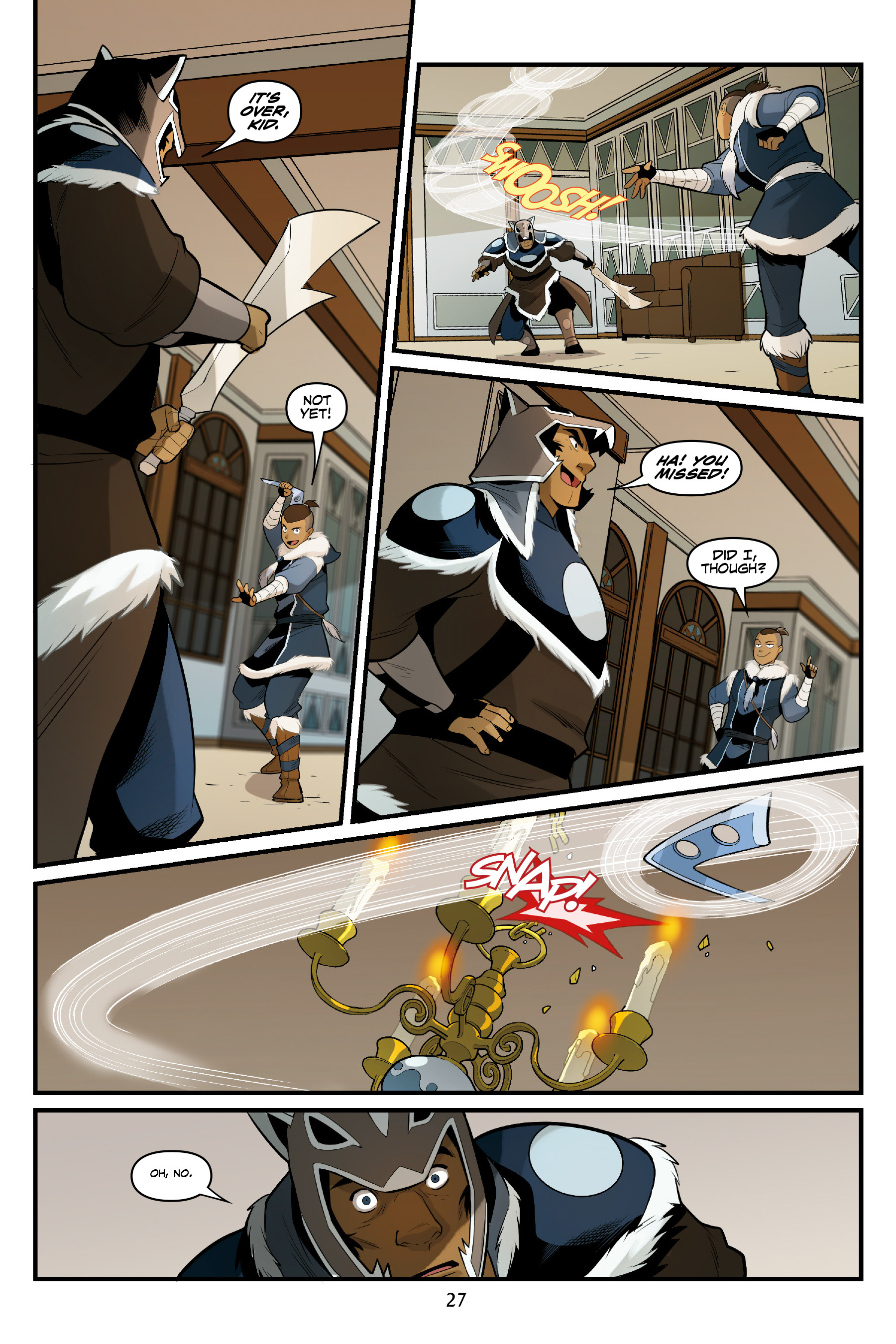 Read online Nickelodeon Avatar: The Last Airbender - North and South comic -  Issue #3 - 28