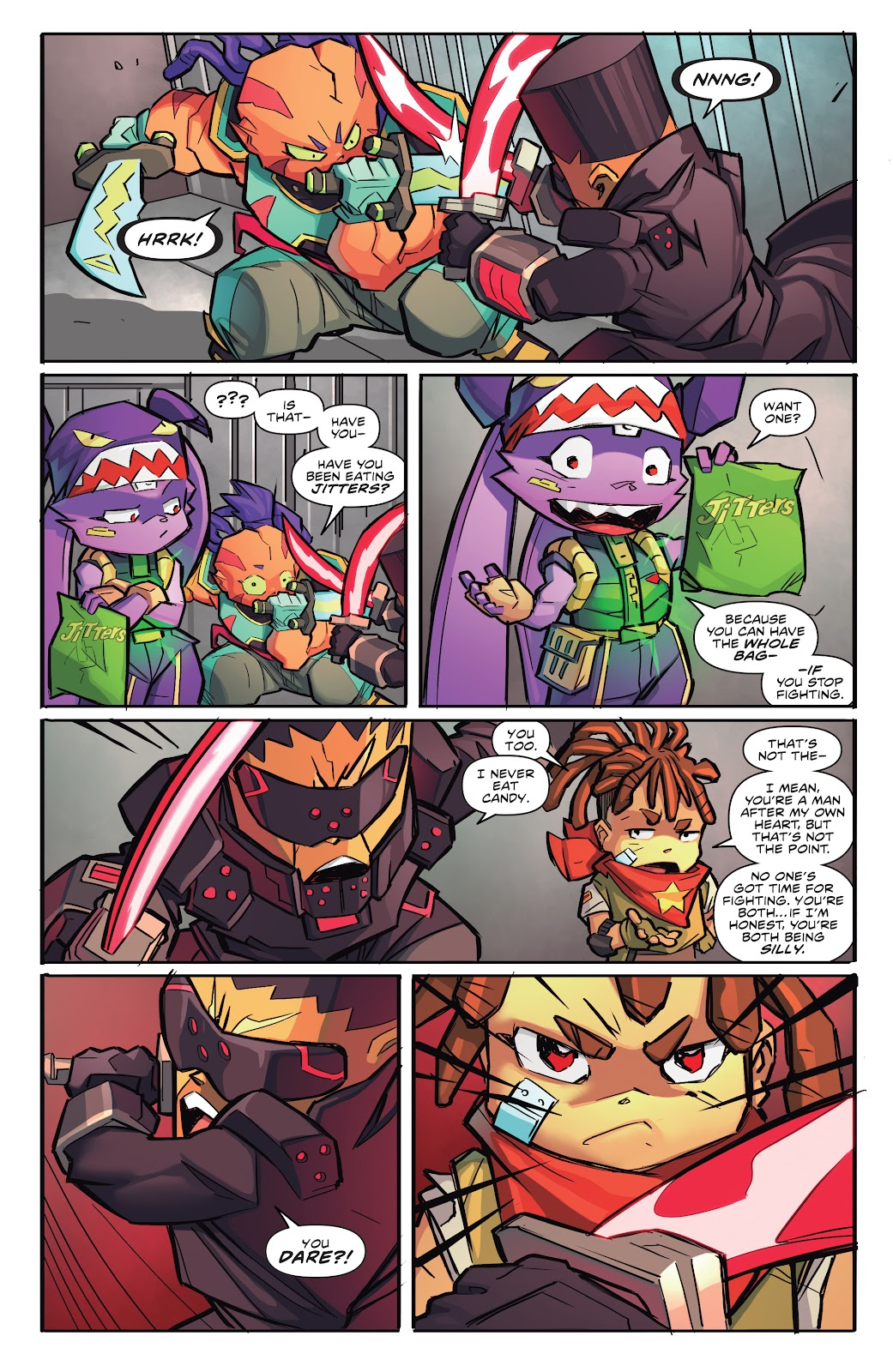 Read online Starcadia Quest comic -  Issue #2 - 16