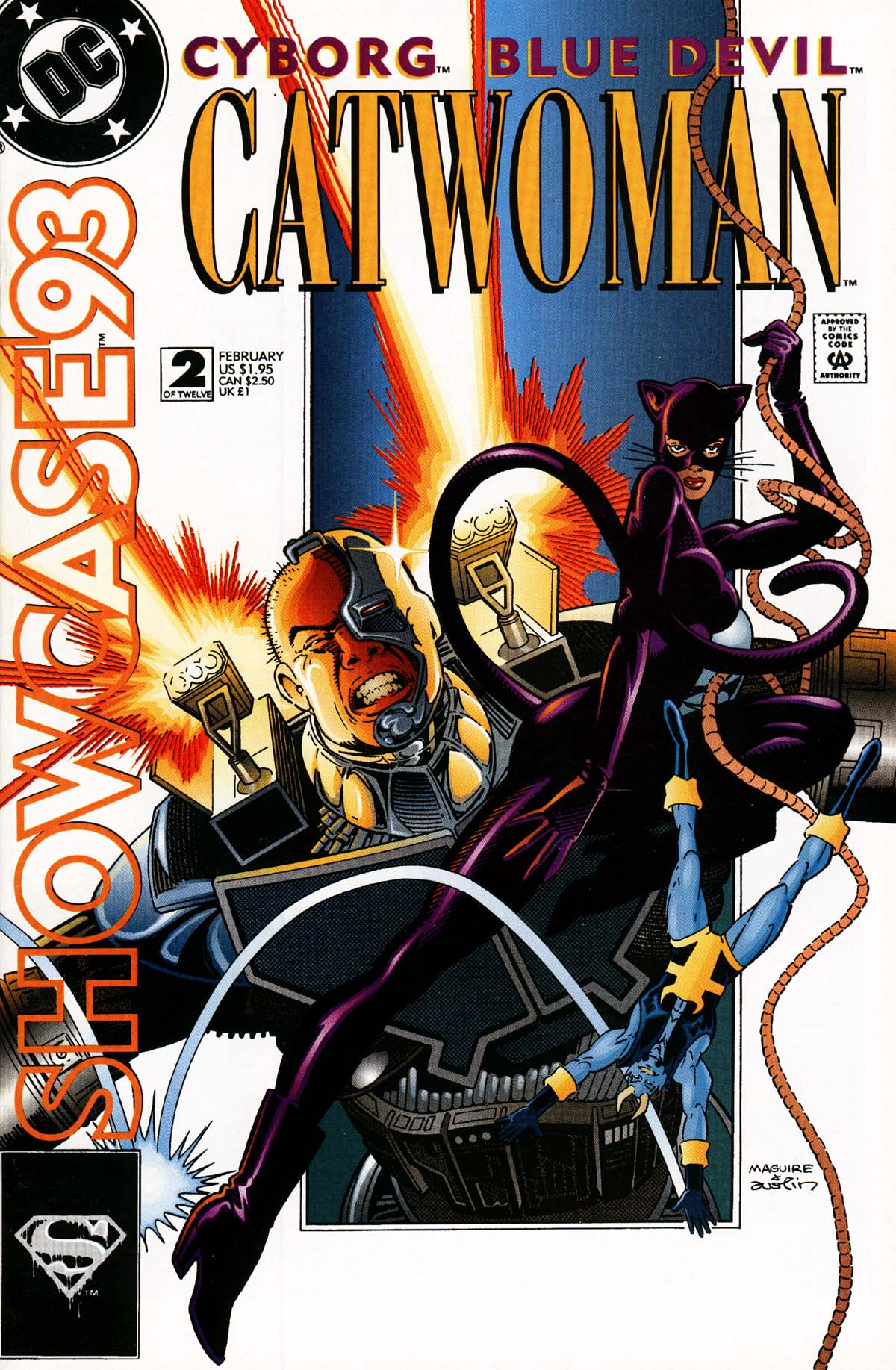 Read online Showcase '93 comic -  Issue #2 - 1
