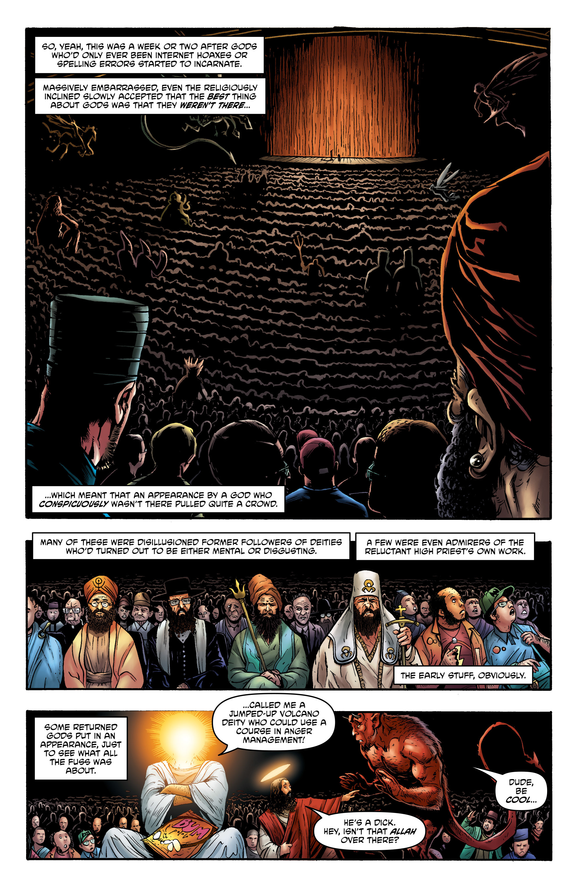 Read online God is Dead: Book of Acts comic -  Issue # Alpha - 30