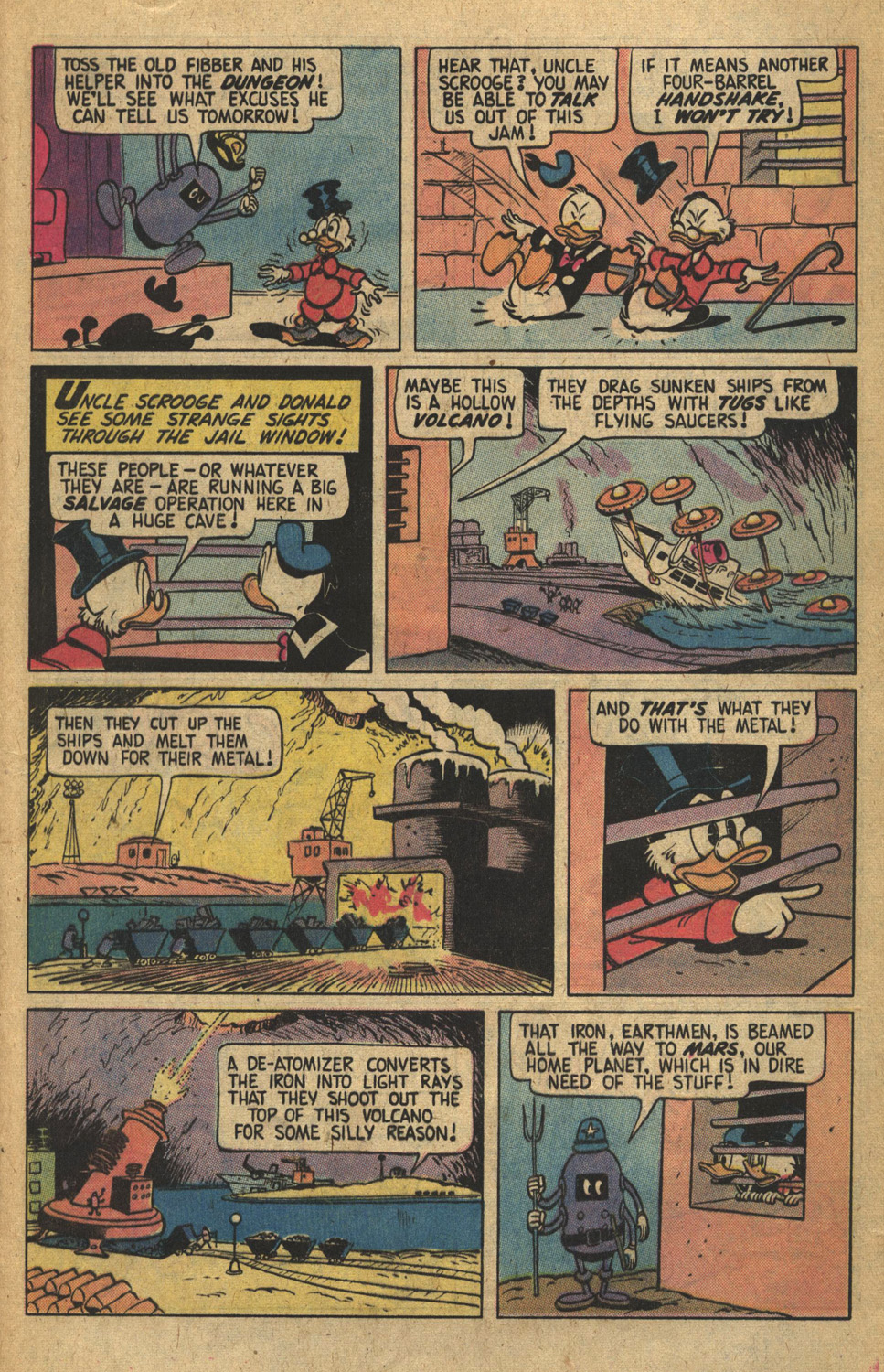 Read online Uncle Scrooge (1953) comic -  Issue #149 - 21