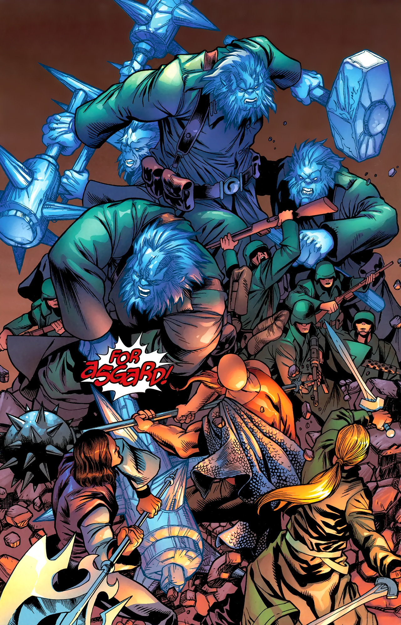Read online Ultimate Thor comic -  Issue #3 - 12