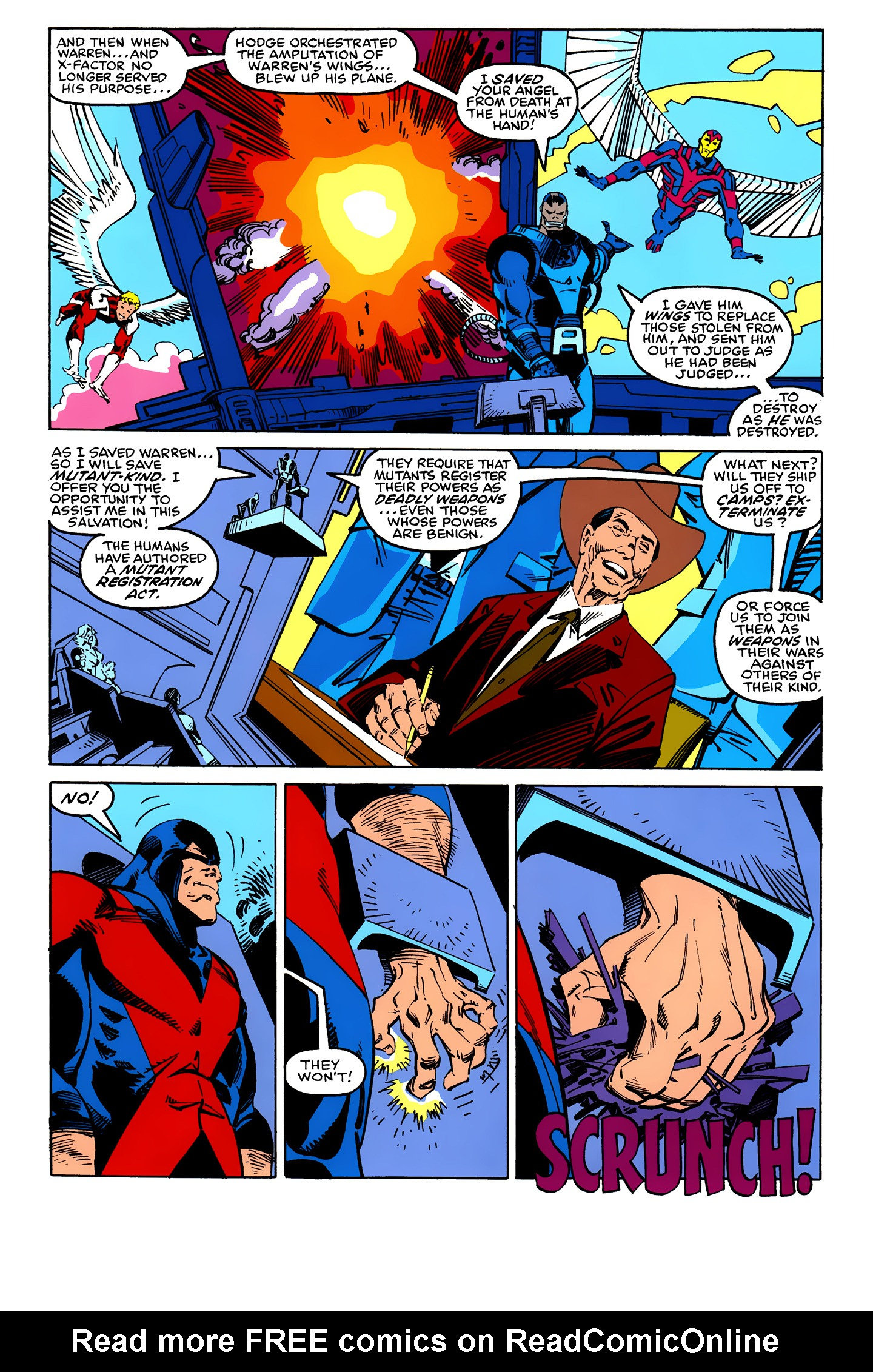 Read online X-Factor (1986) comic -  Issue #25 - 5