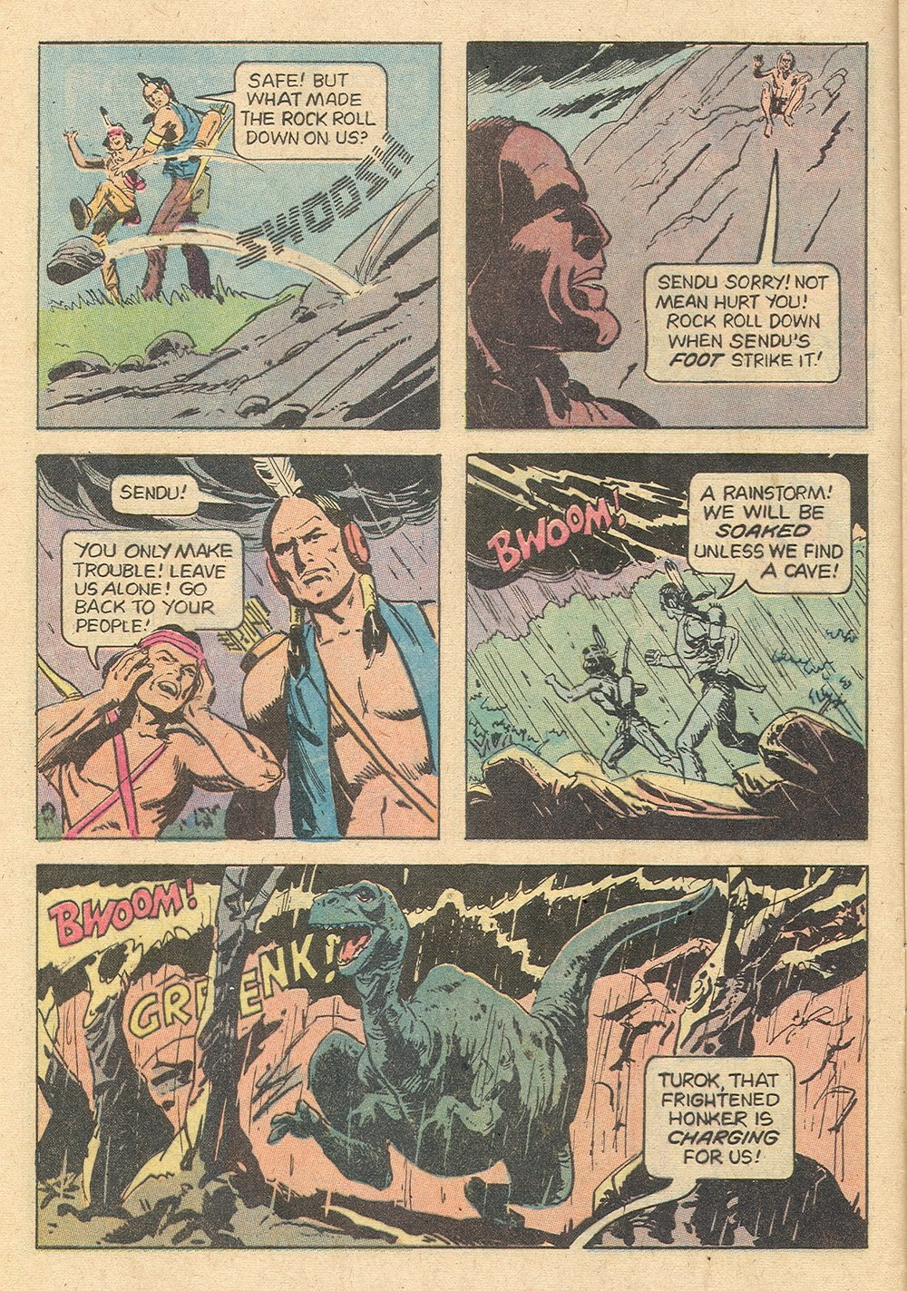 Read online Turok, Son of Stone comic -  Issue #129 - 8