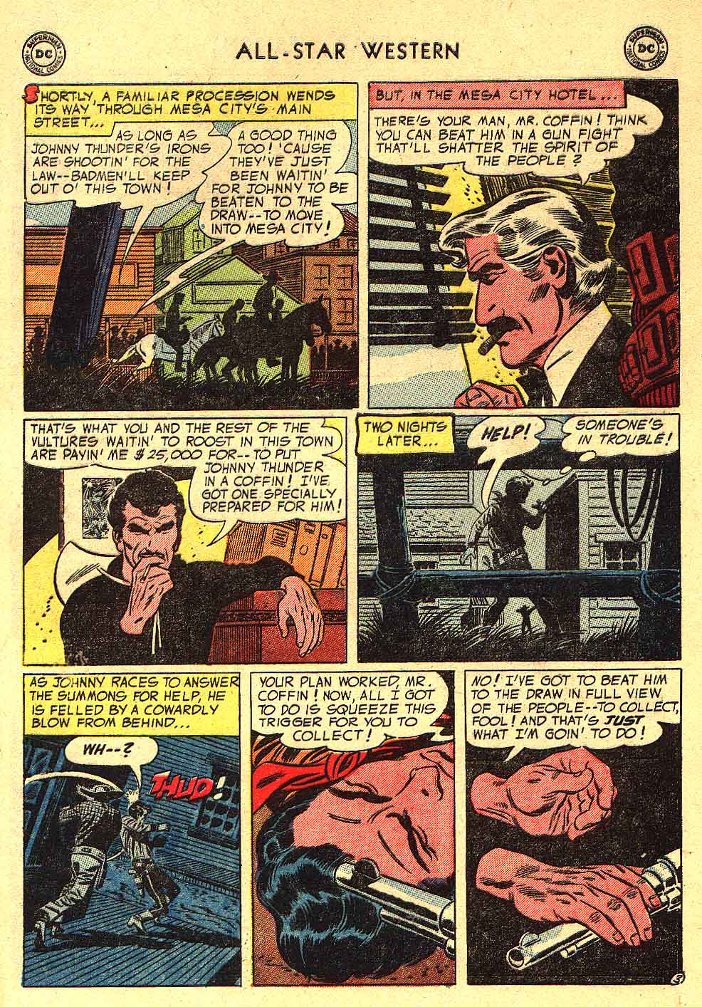 Read online All-Star Western (1951) comic -  Issue #80 - 29