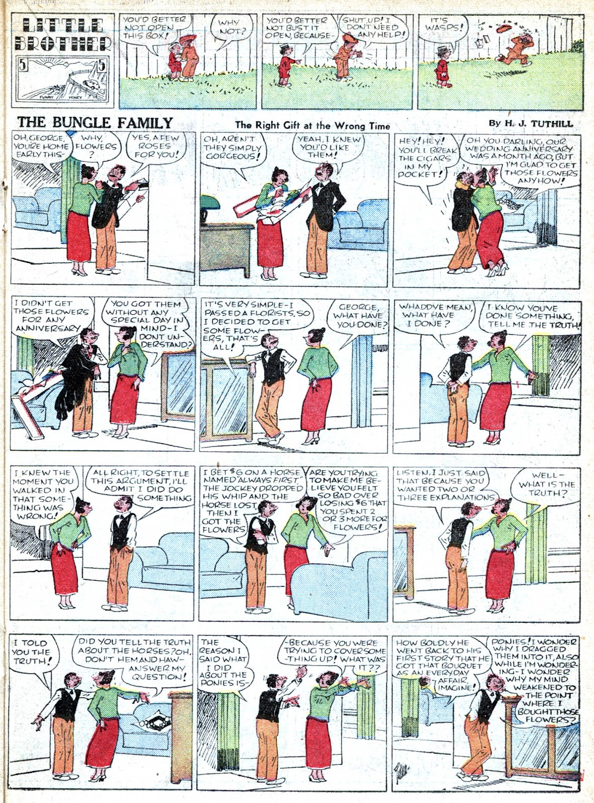 Read online Famous Funnies comic -  Issue #36 - 37