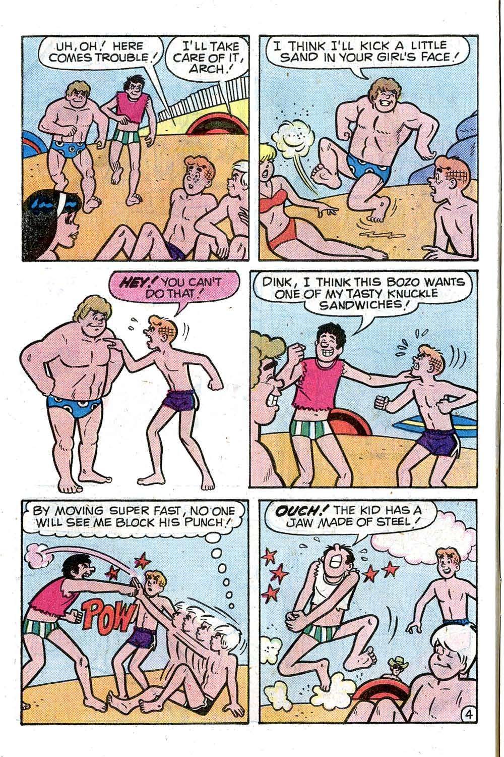Read online Archie (1960) comic -  Issue #285 - 6