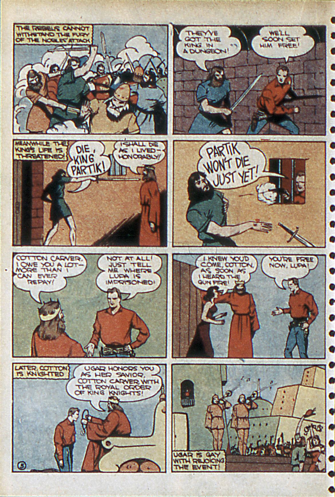 Read online Adventure Comics (1938) comic -  Issue #55 - 37