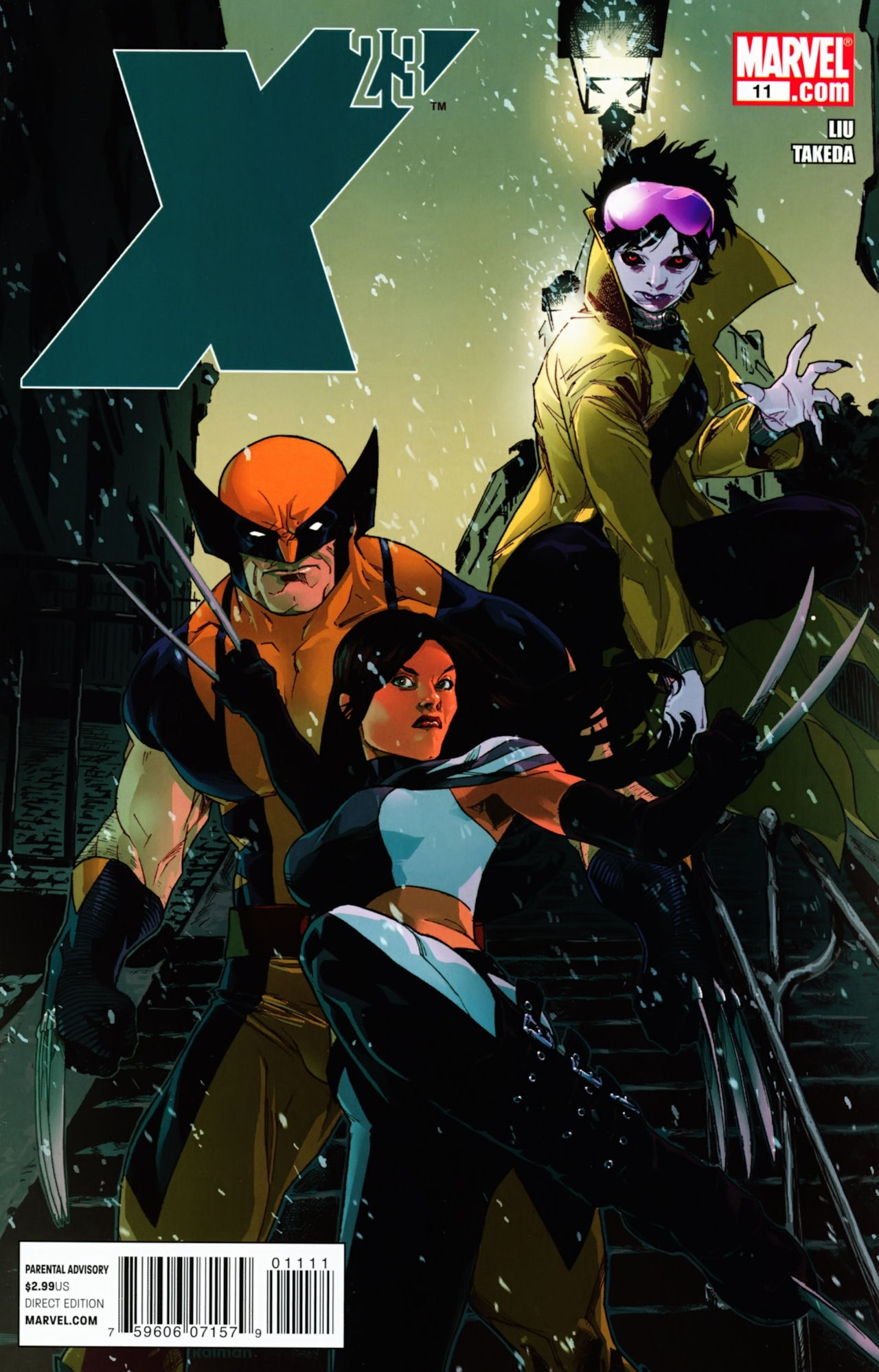 Read online X-23 (2010) comic -  Issue #11 - 1