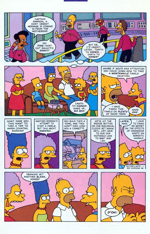Read online Simpsons Comics comic -  Issue #10 - 3