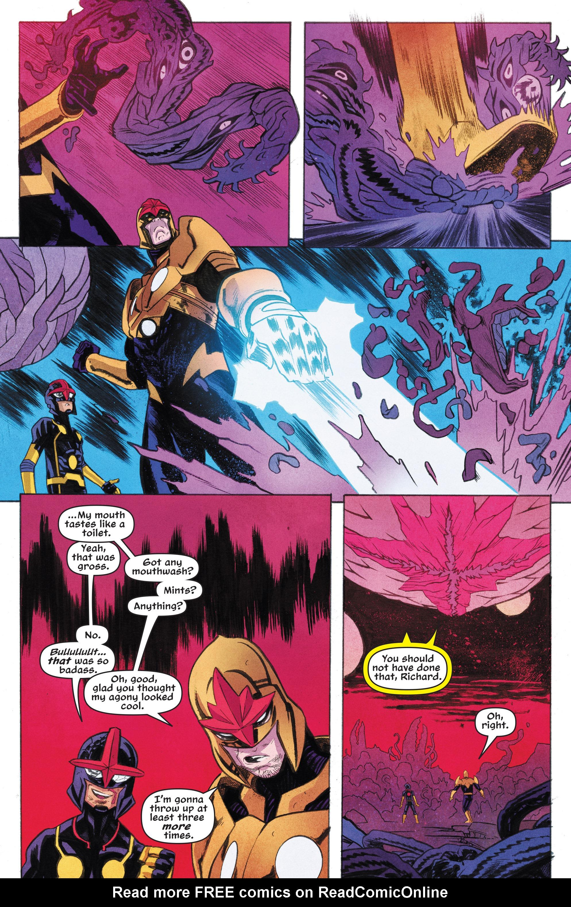 Read online Nova (2017) comic -  Issue #7 - 10