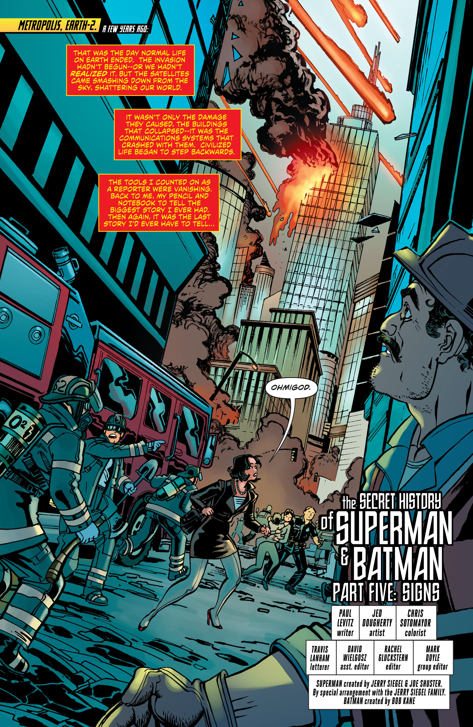 Read online Worlds' Finest comic -  Issue #31 - 2