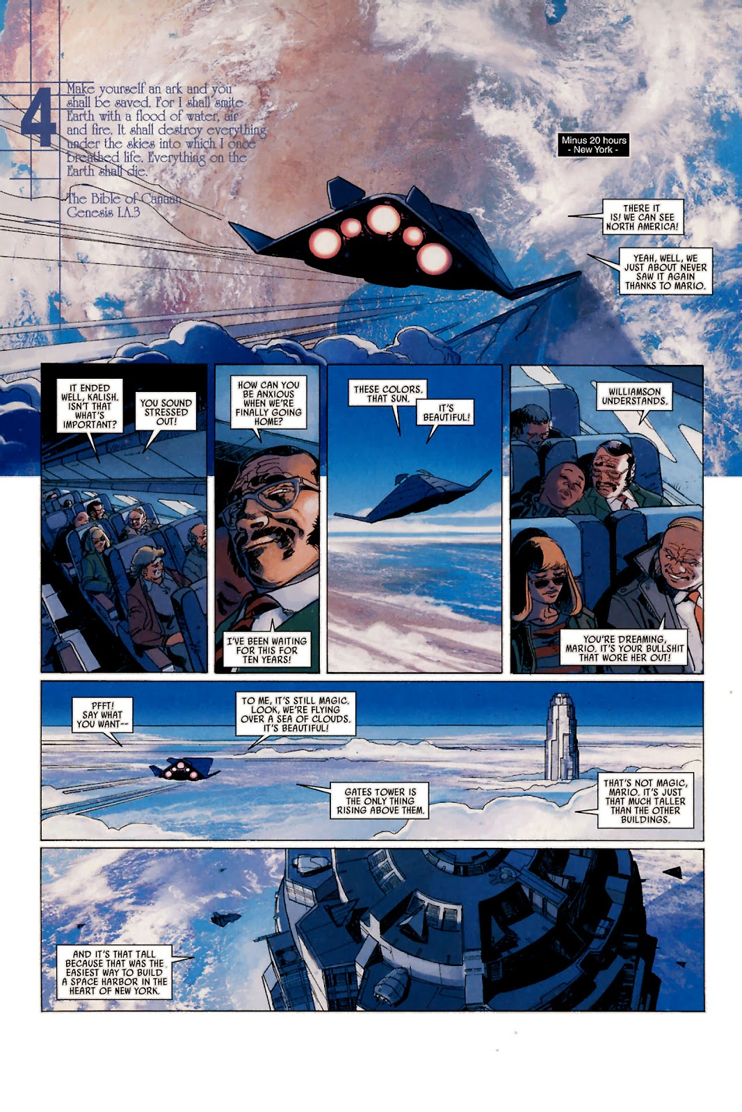 Read online Universal War One: Revelations comic -  Issue #1 - 21