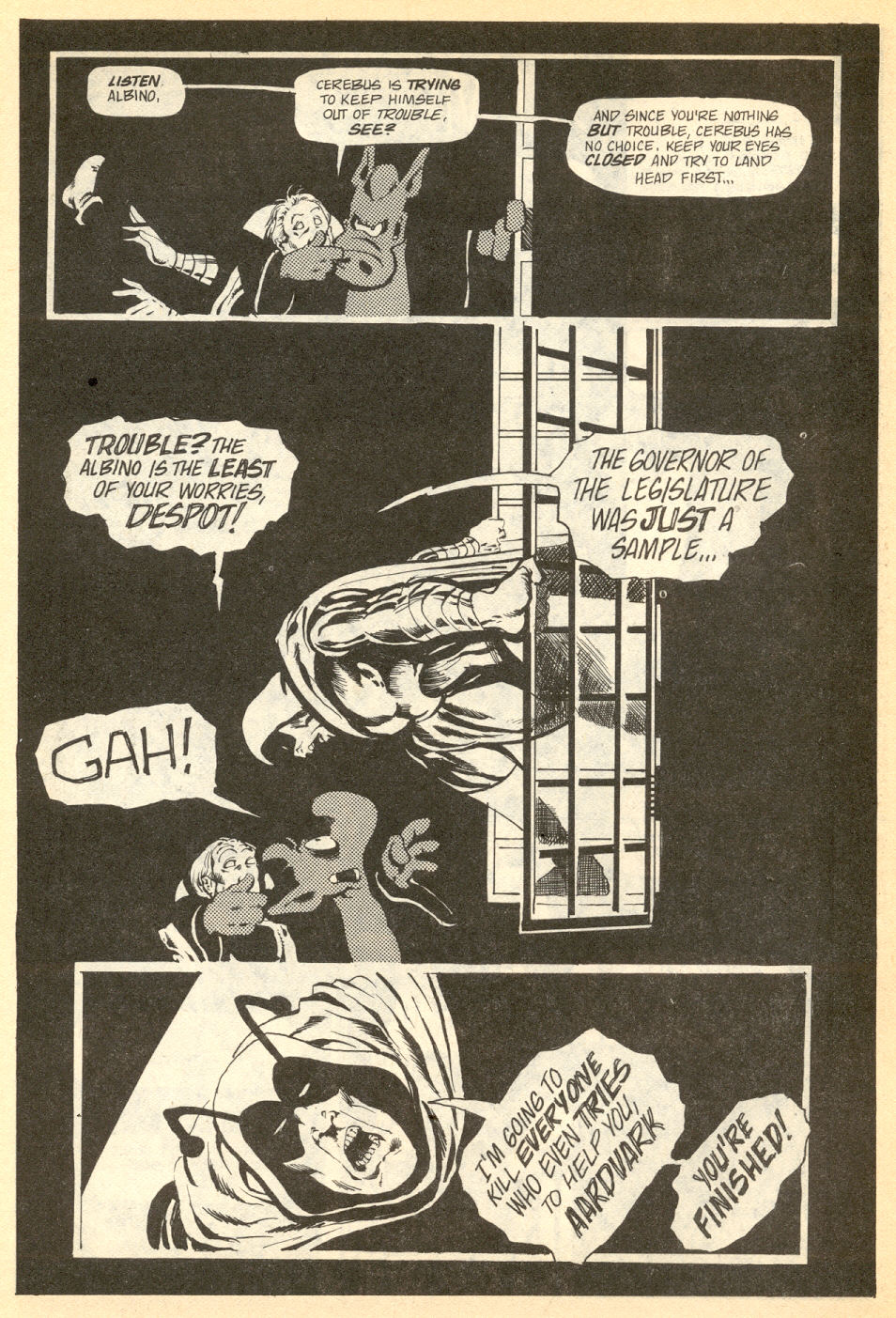 Cerebus Issue #34 #34 - English 9