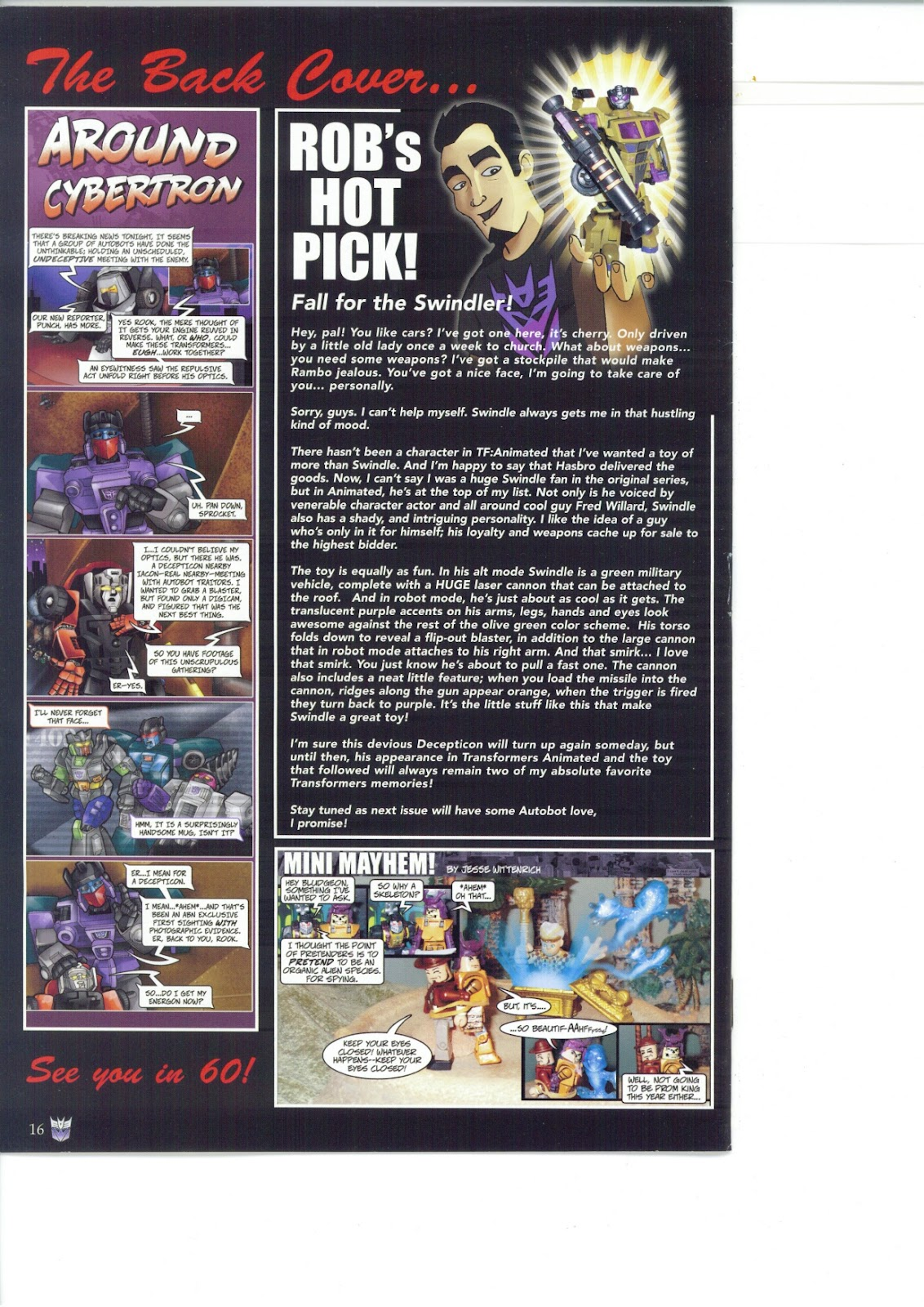 Read online Transformers: Collectors' Club comic -  Issue #26 - 16