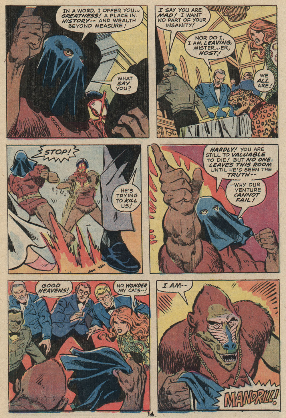 Read online Shanna, the She-Devil (1972) comic -  Issue #4 - 11