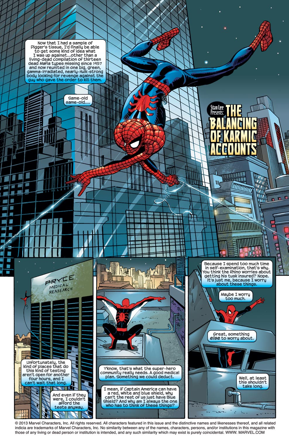 The Amazing Spider-Man (1999) 54 Page 1