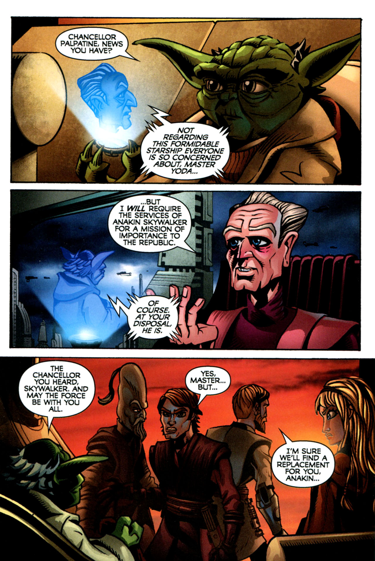 Read online Star Wars: The Clone Wars - The Starcrusher Trap comic -  Issue # Full - 23