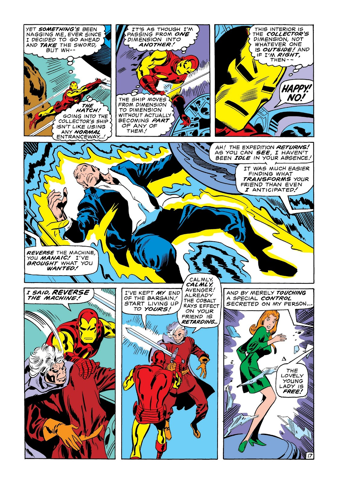 Read online Marvel Masterworks: The Invincible Iron Man comic -  Issue # TPB 7 (Part 1) - 25