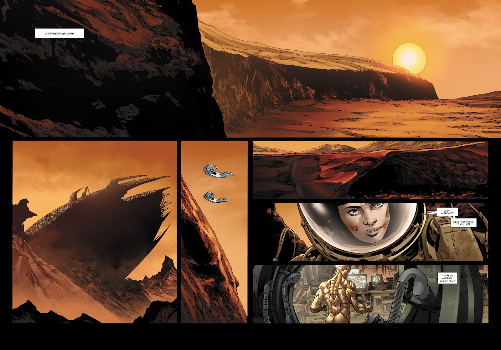 Read online Olympus Mons Vol. 1: Anomaly One comic -  Issue #5 - 10