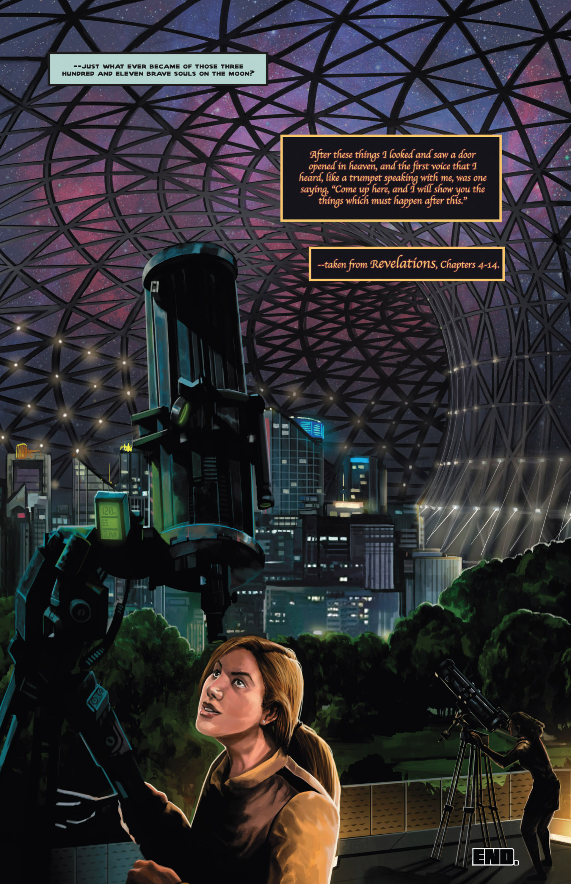 Read online Space: 1999: Aftershock comic -  Issue #3 - 30