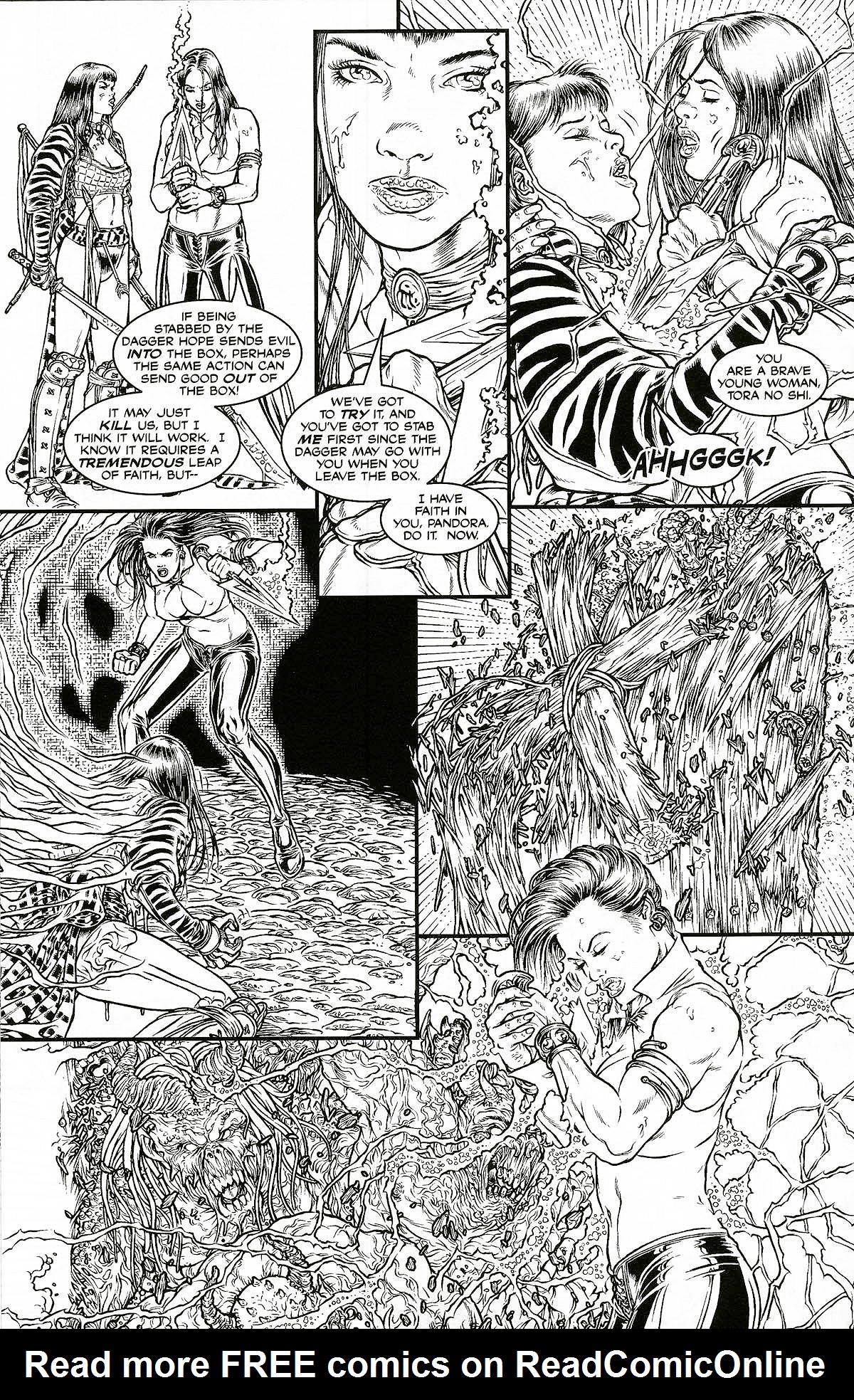 Read online Shi: Pandora's Box comic -  Issue #1 - 20