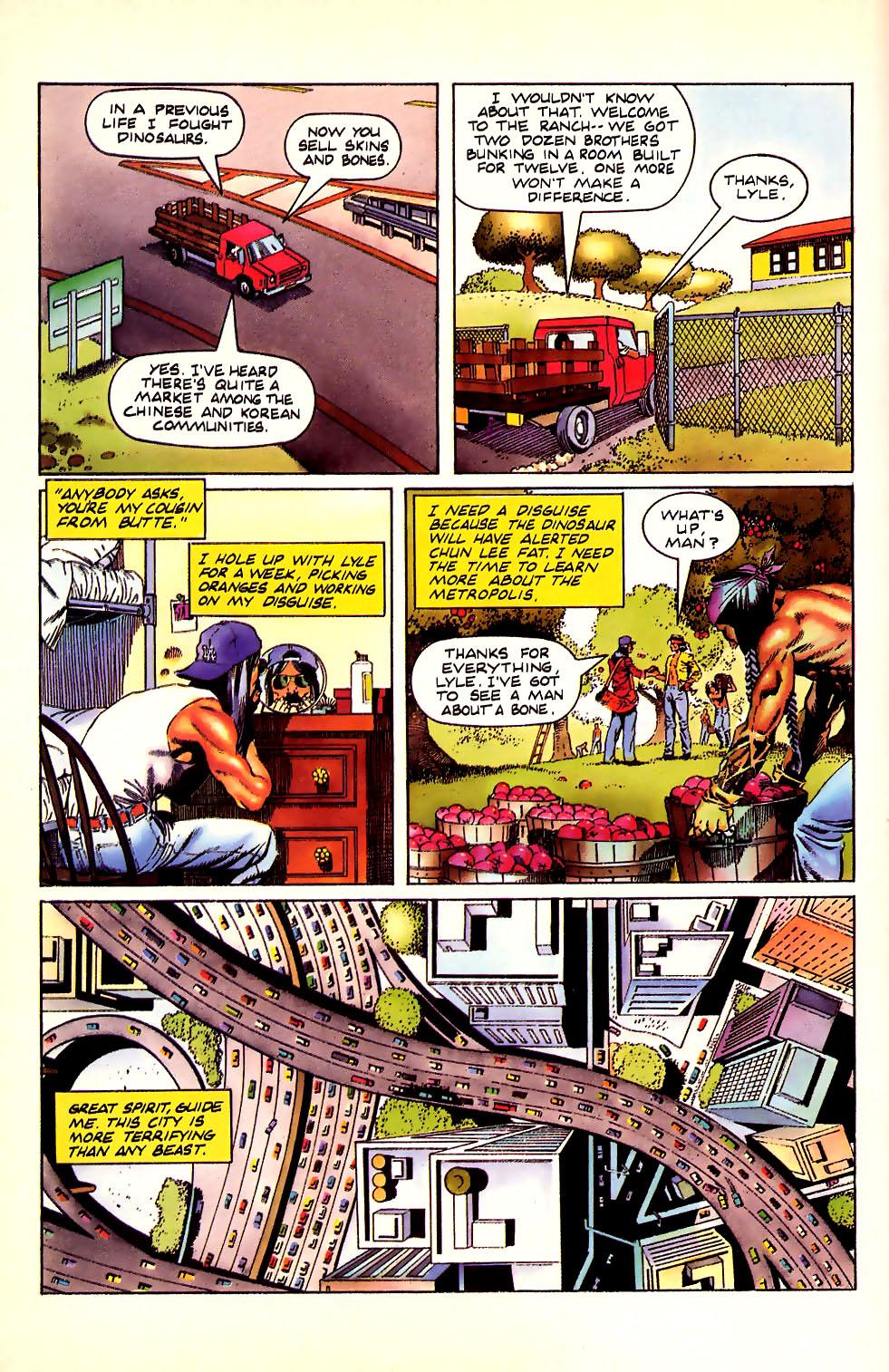 Read online Turok, Dinosaur Hunter (1993) comic -  Issue #11 - 13