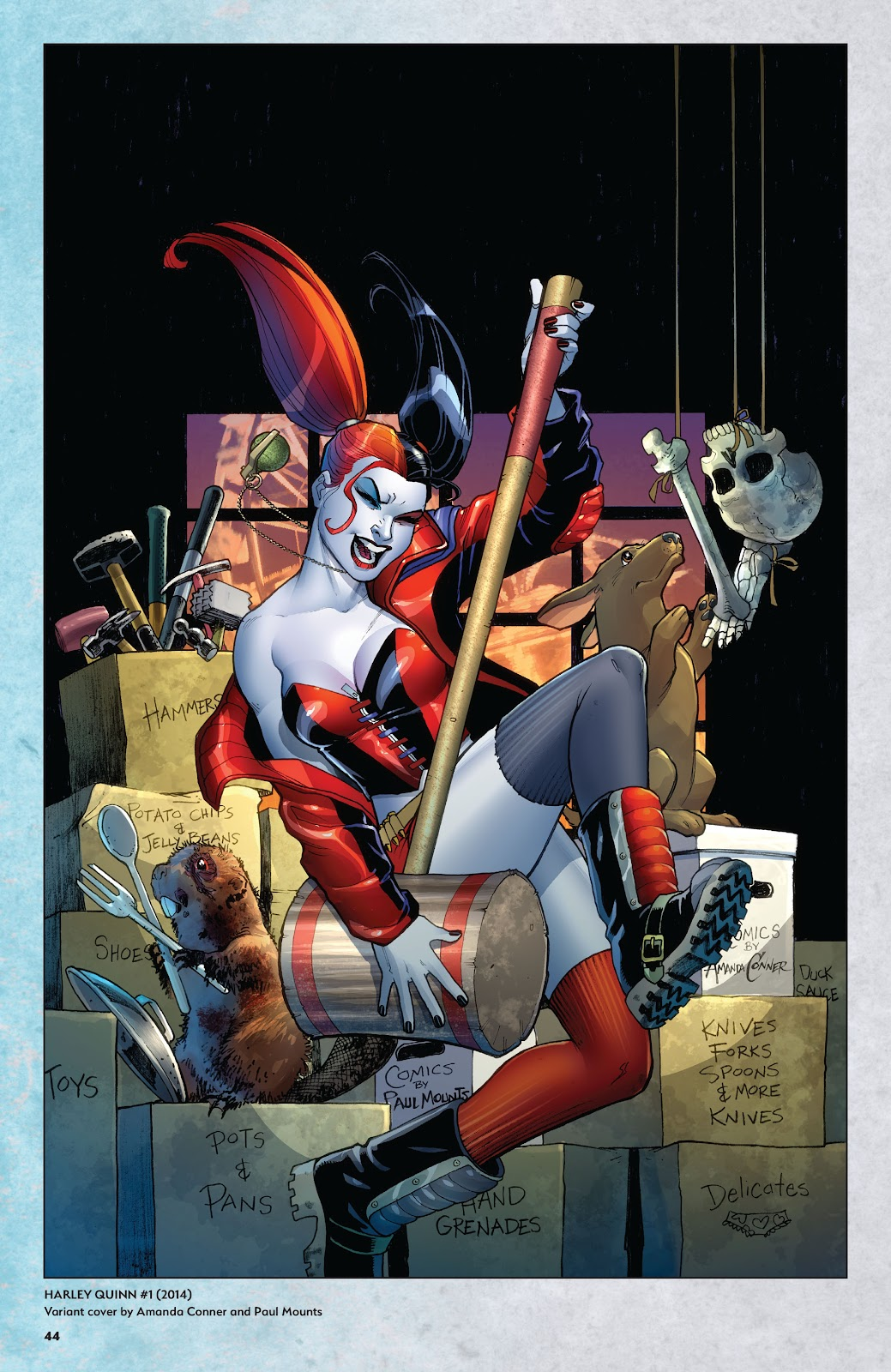 Read online Harley Quinn: A Rogue's Gallery―The Deluxe Cover Art Collection comic -  Issue # TPB (Part 1) - 43