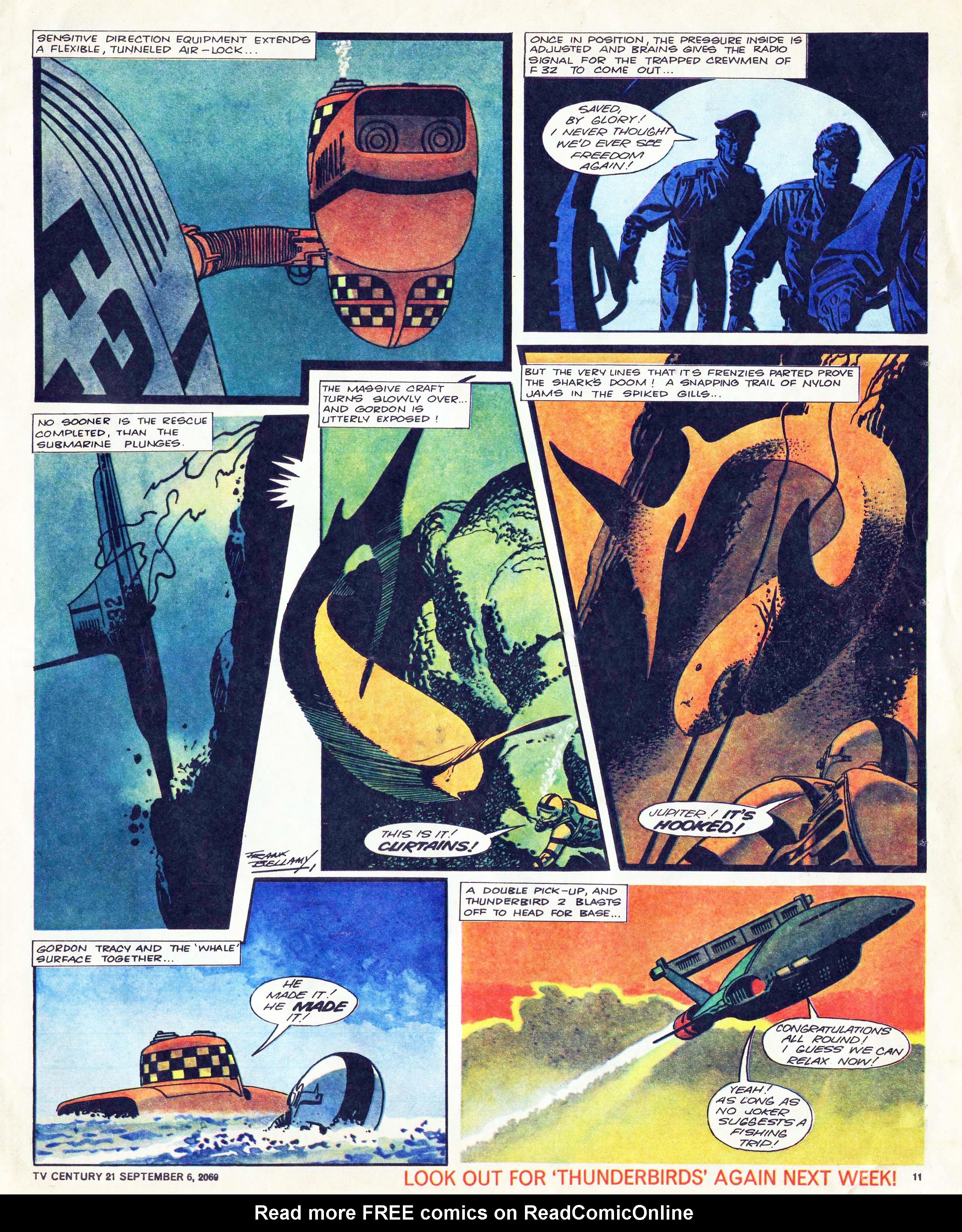 Read online TV Century 21 (TV 21) comic -  Issue #242 - 11