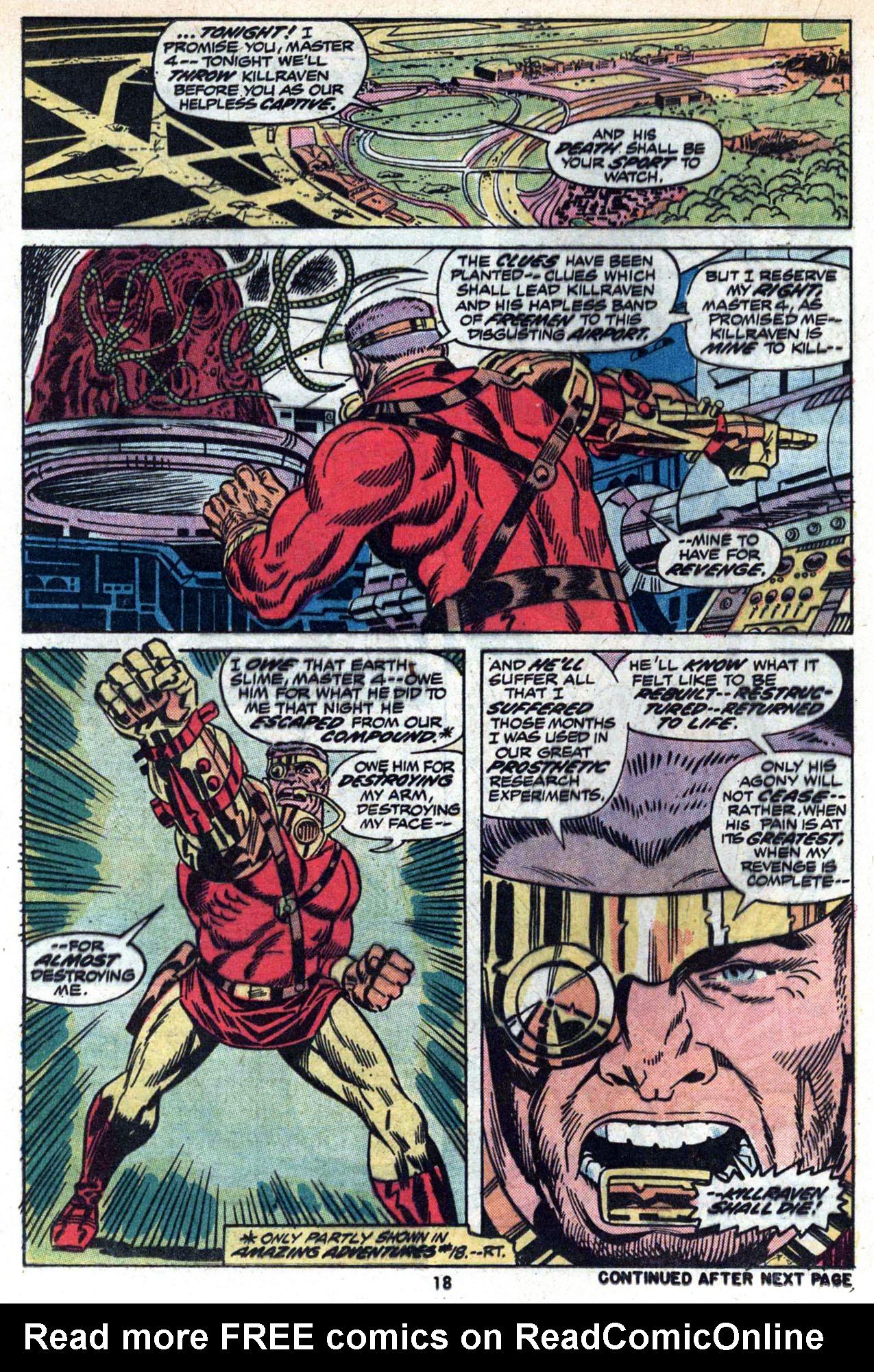 Read online Amazing Adventures (1970) comic -  Issue #20 - 20